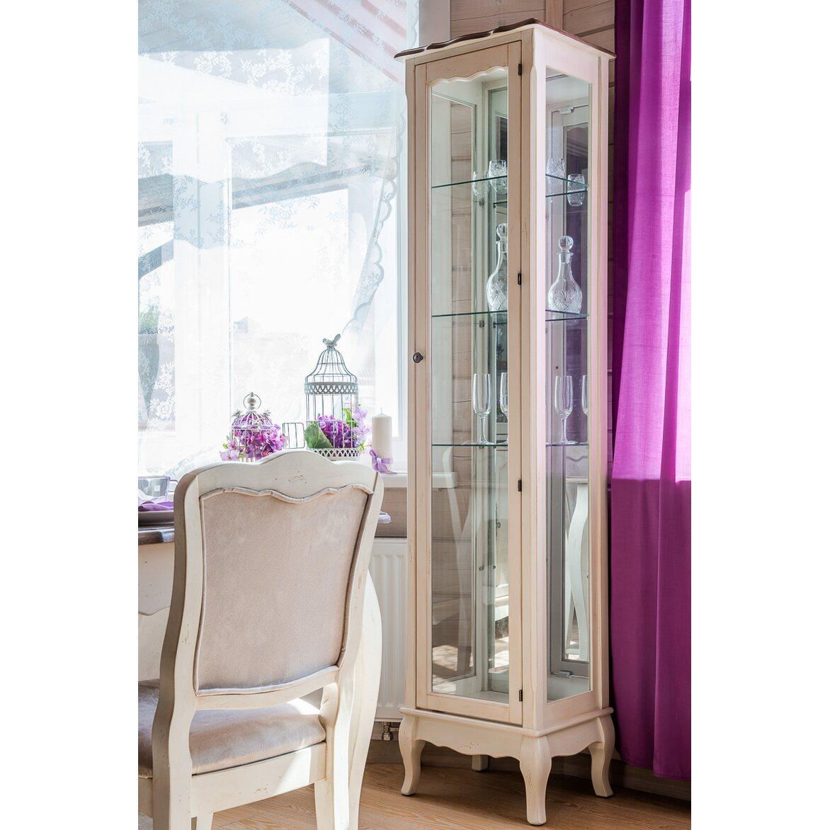 Стул с мягким сиденьем Leontina, бежевого цвета 4 | Обеденные стулья Kingsby