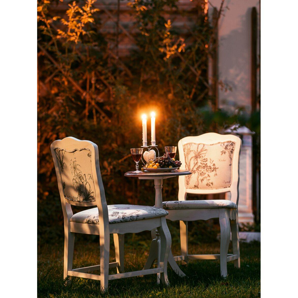 Стул Leontina с мягким сиденьем, бежевого цвета 4 | Обеденные стулья Kingsby