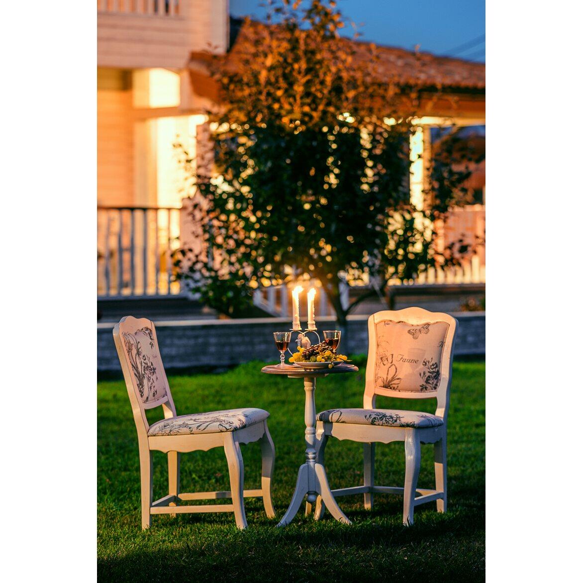 Стул Leontina с мягким сиденьем, бежевого цвета 5 | Обеденные стулья Kingsby