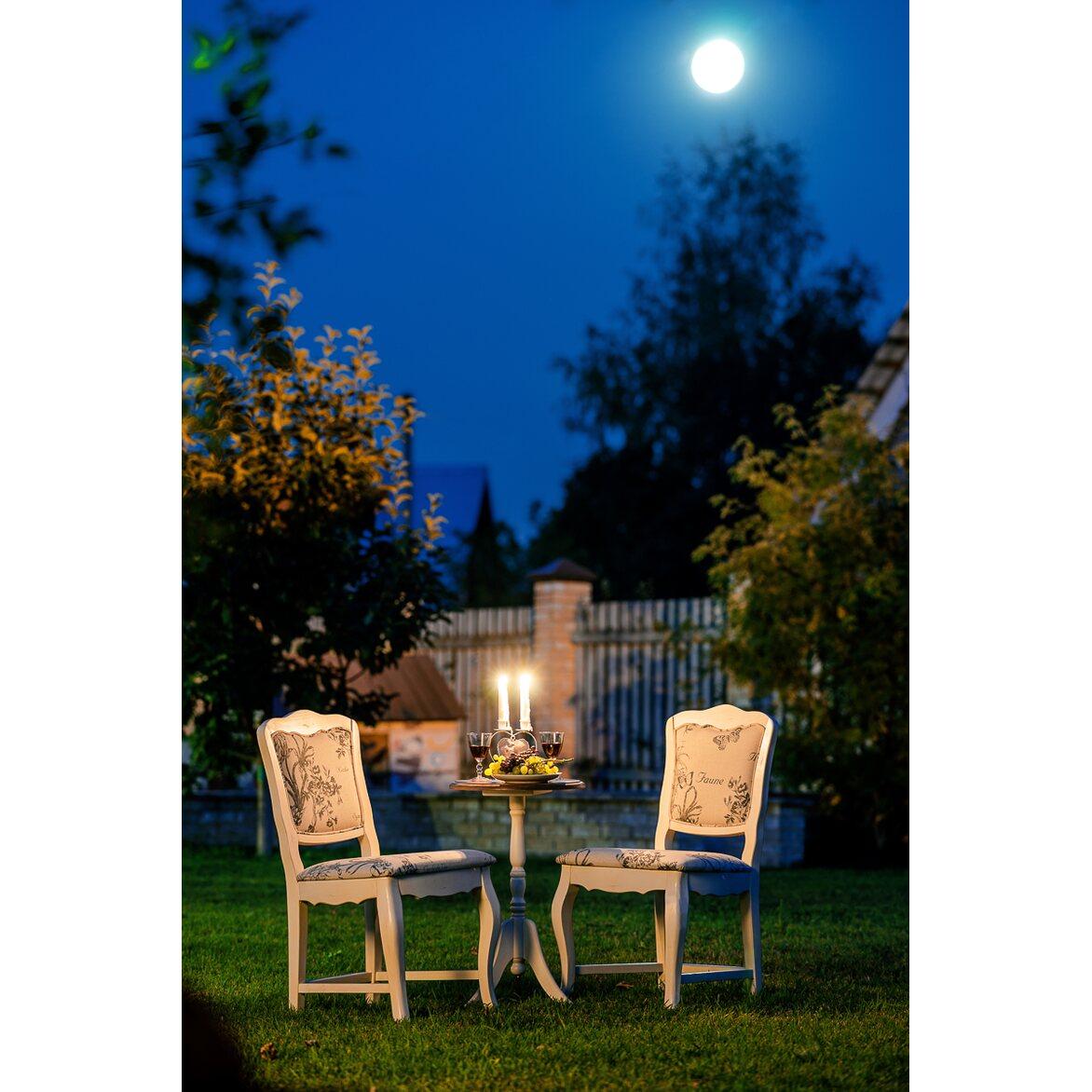 Стул Leontina с мягким сиденьем, бежевого цвета 6 | Обеденные стулья Kingsby