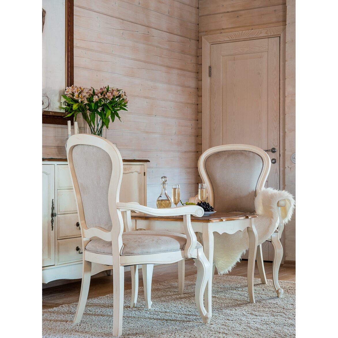 Чайный столик (квадратный) Leontina, бежевого цвета 3 | Журнальные столики Kingsby