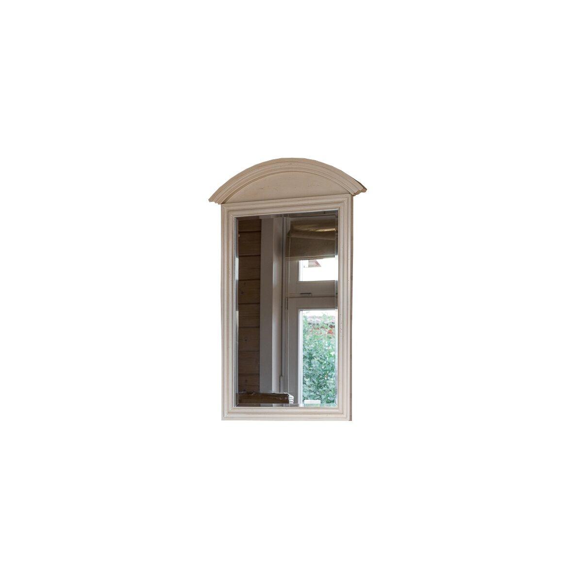 Прямоугольное зеркало настенное Leontina, бежевого цвета   Настенные зеркала Kingsby
