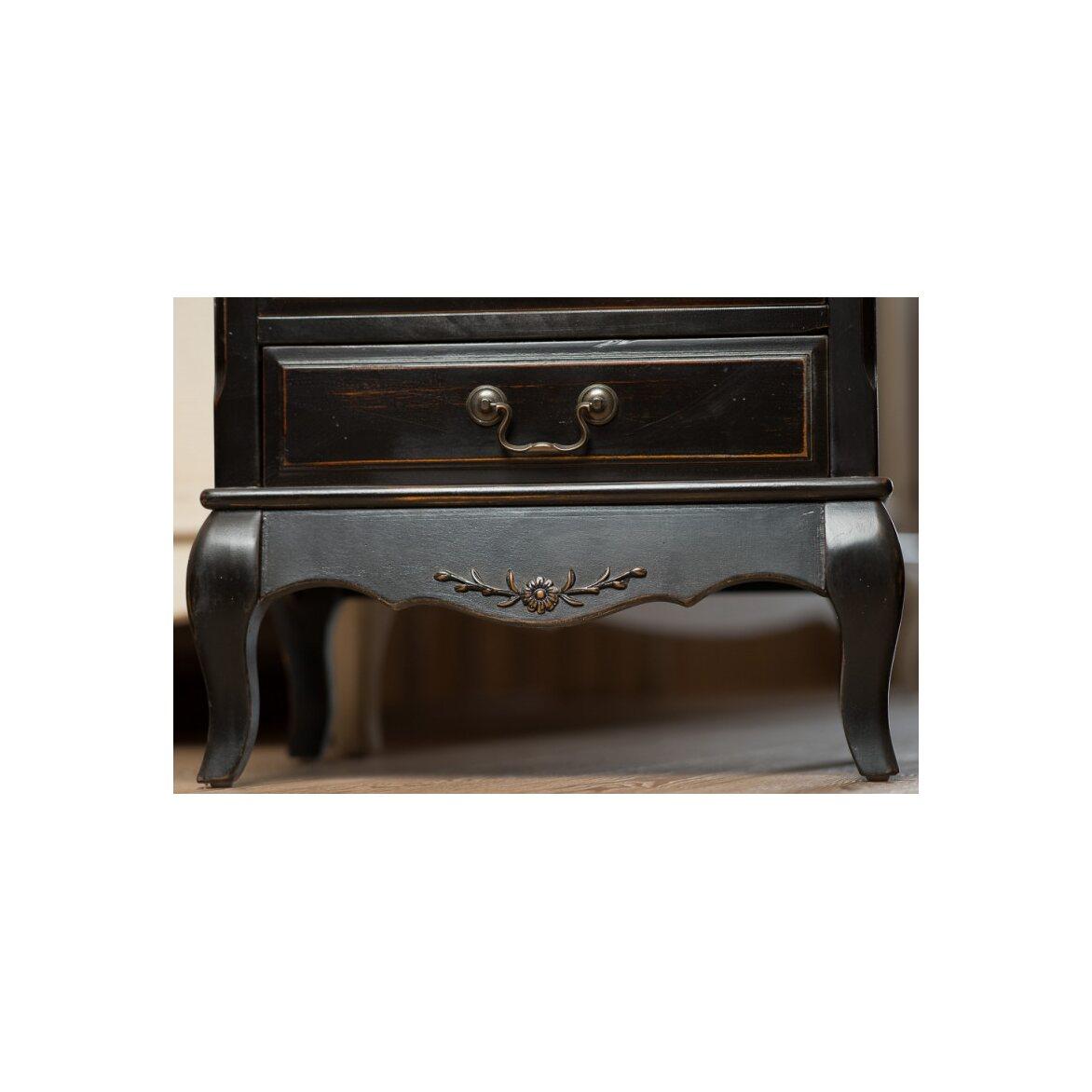 Комод 6 ящиков Leontina, черного цвета 5 | Комоды Kingsby