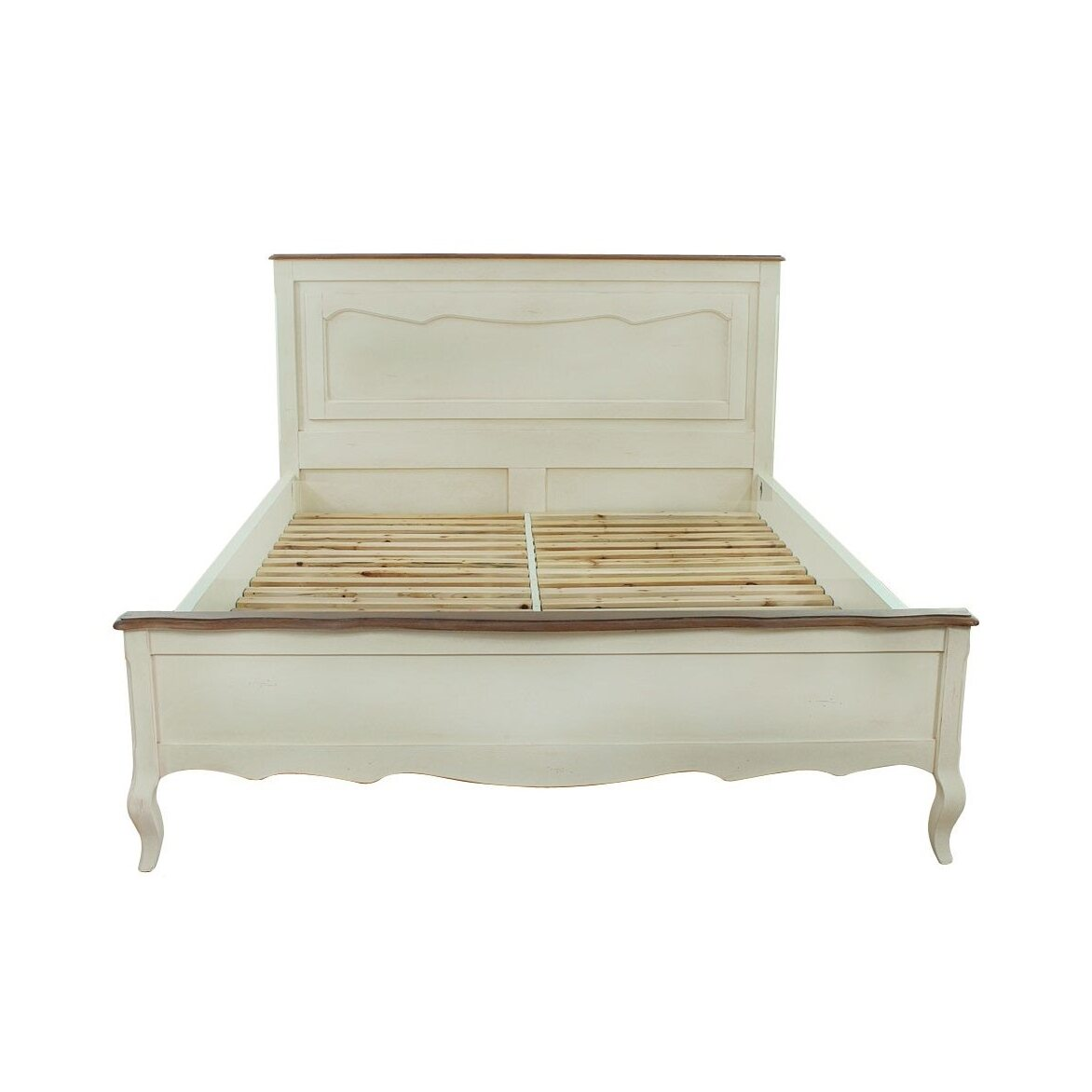 Кровать 140*200 Leontina, бежевого цвета | Односпальные кровати Kingsby
