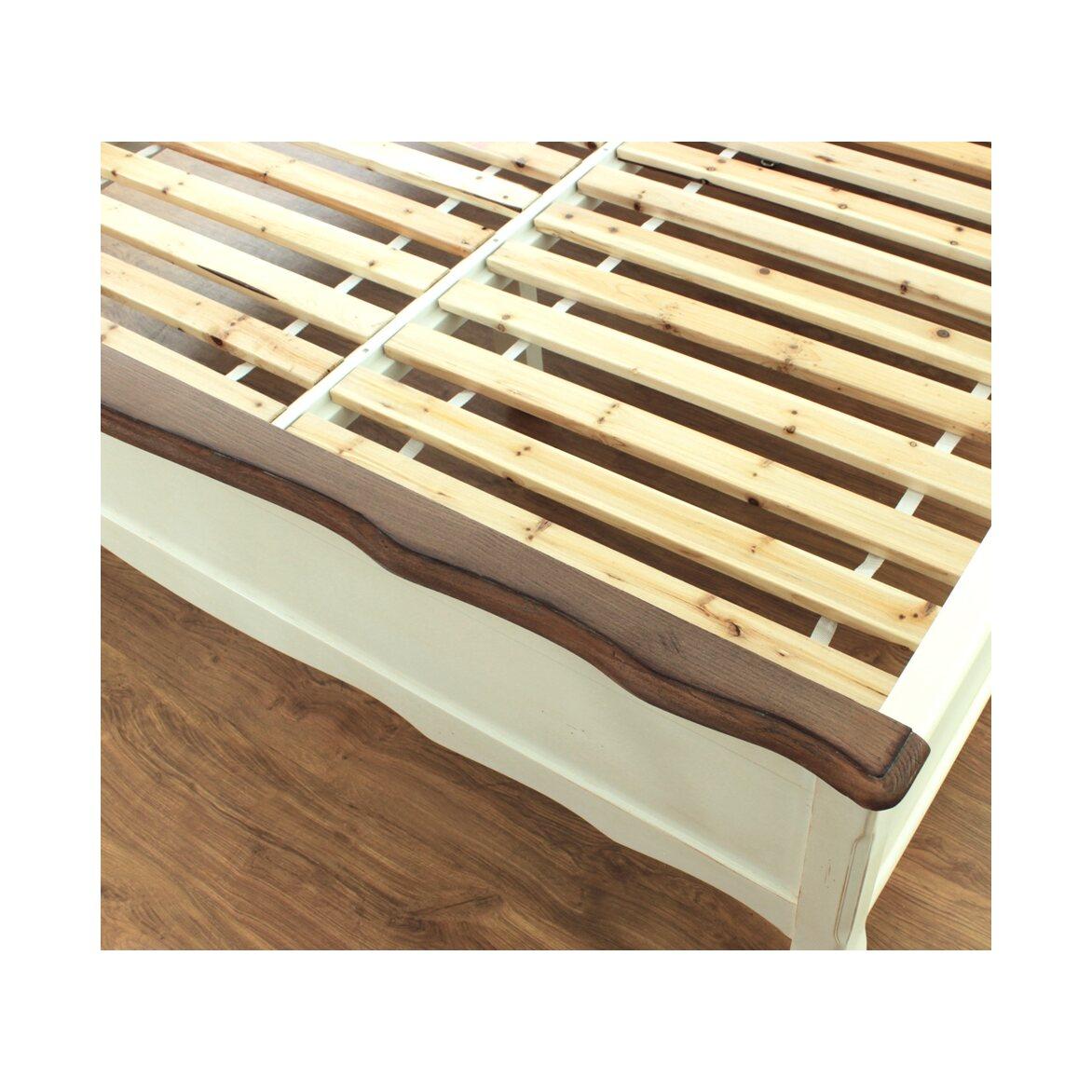 Кровать двуспальная Евро 180*200 Leontina, бежевого цвета 3   Двуспальные кровати Kingsby