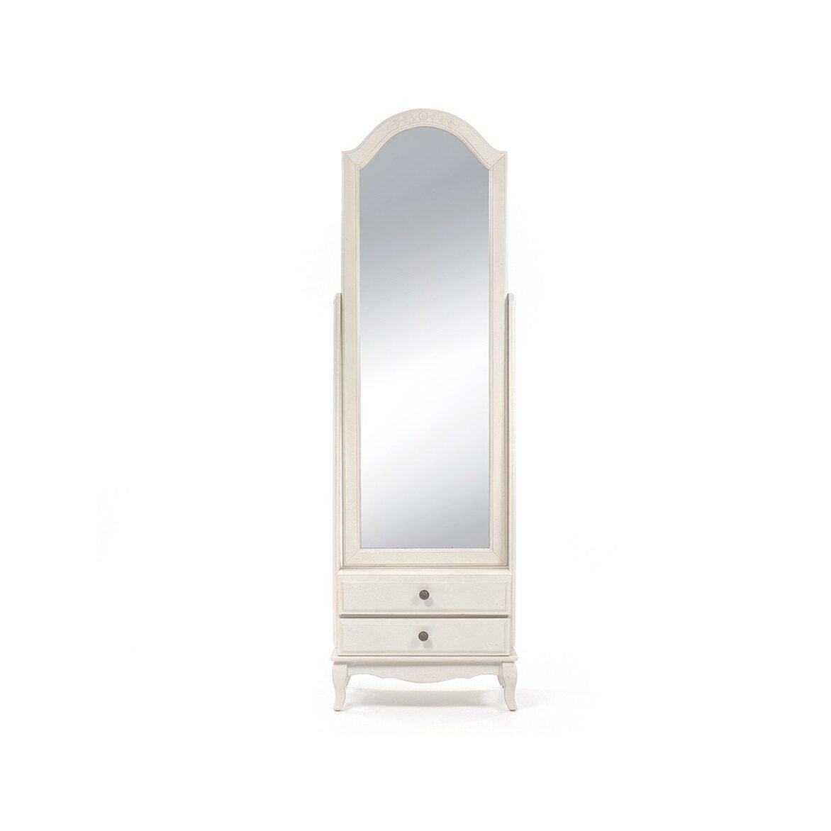 Напольное зеркало Leontina, бежевого цвета | Прямоугольные зеркала Kingsby