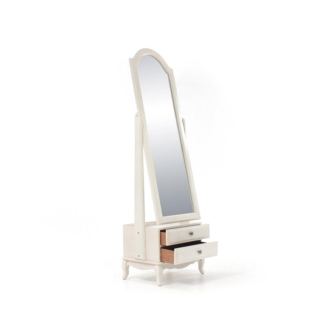 Напольное зеркало Leontina, бежевого цвета 3 | Прямоугольные зеркала Kingsby