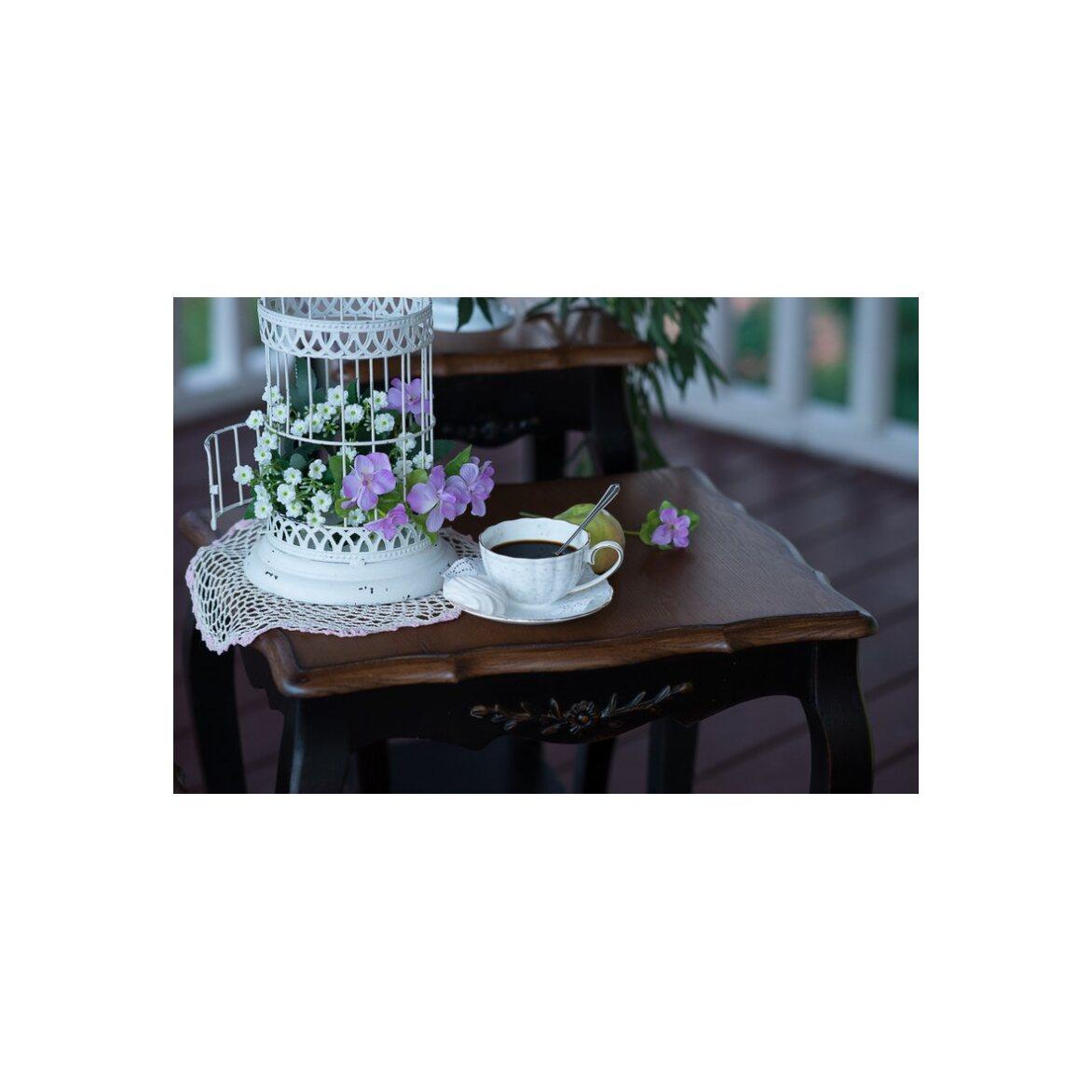 Консольные столики (комплект) Leontina, черного цвета 7 | Консоли Kingsby