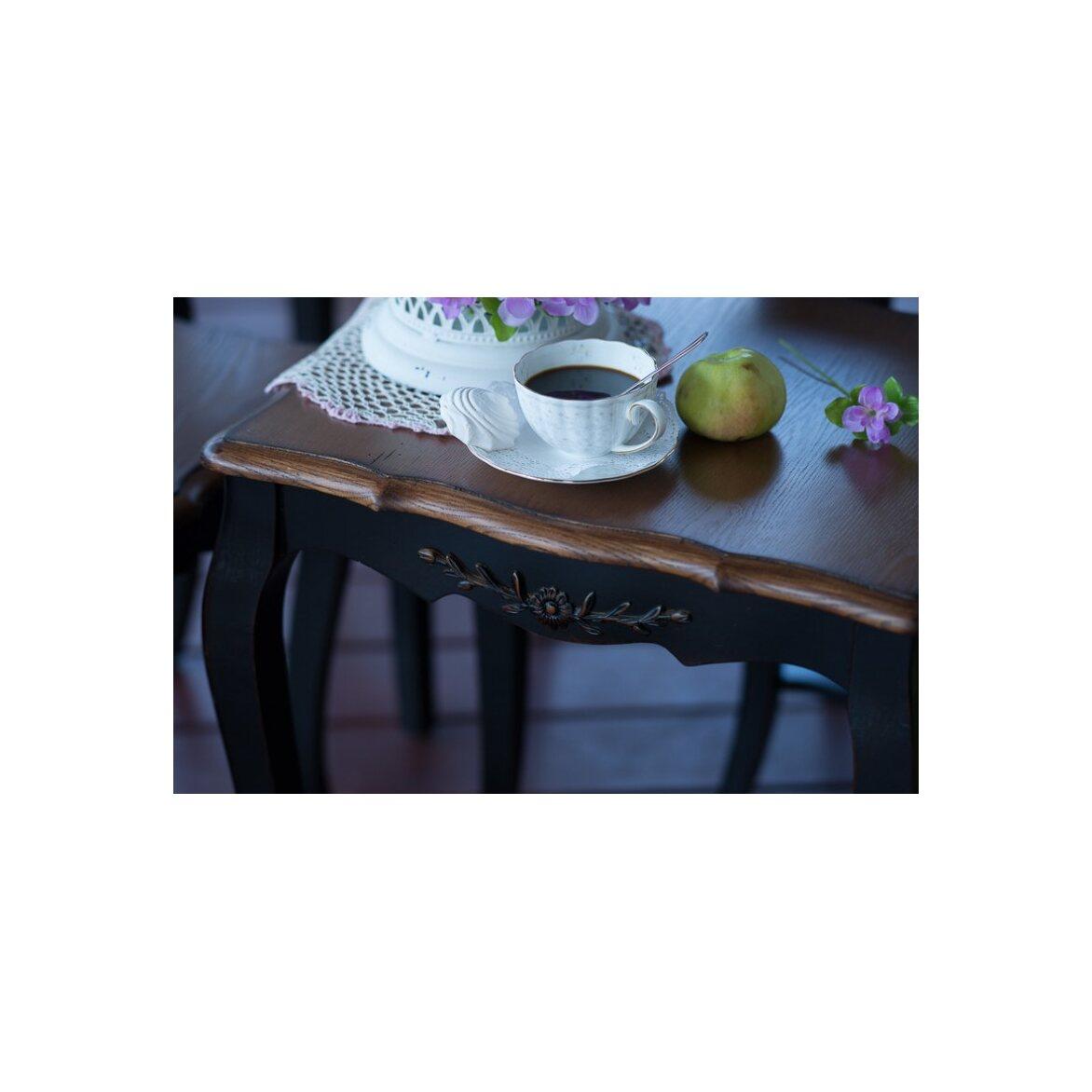 Консольные столики (комплект) Leontina, черного цвета 8 | Консоли Kingsby