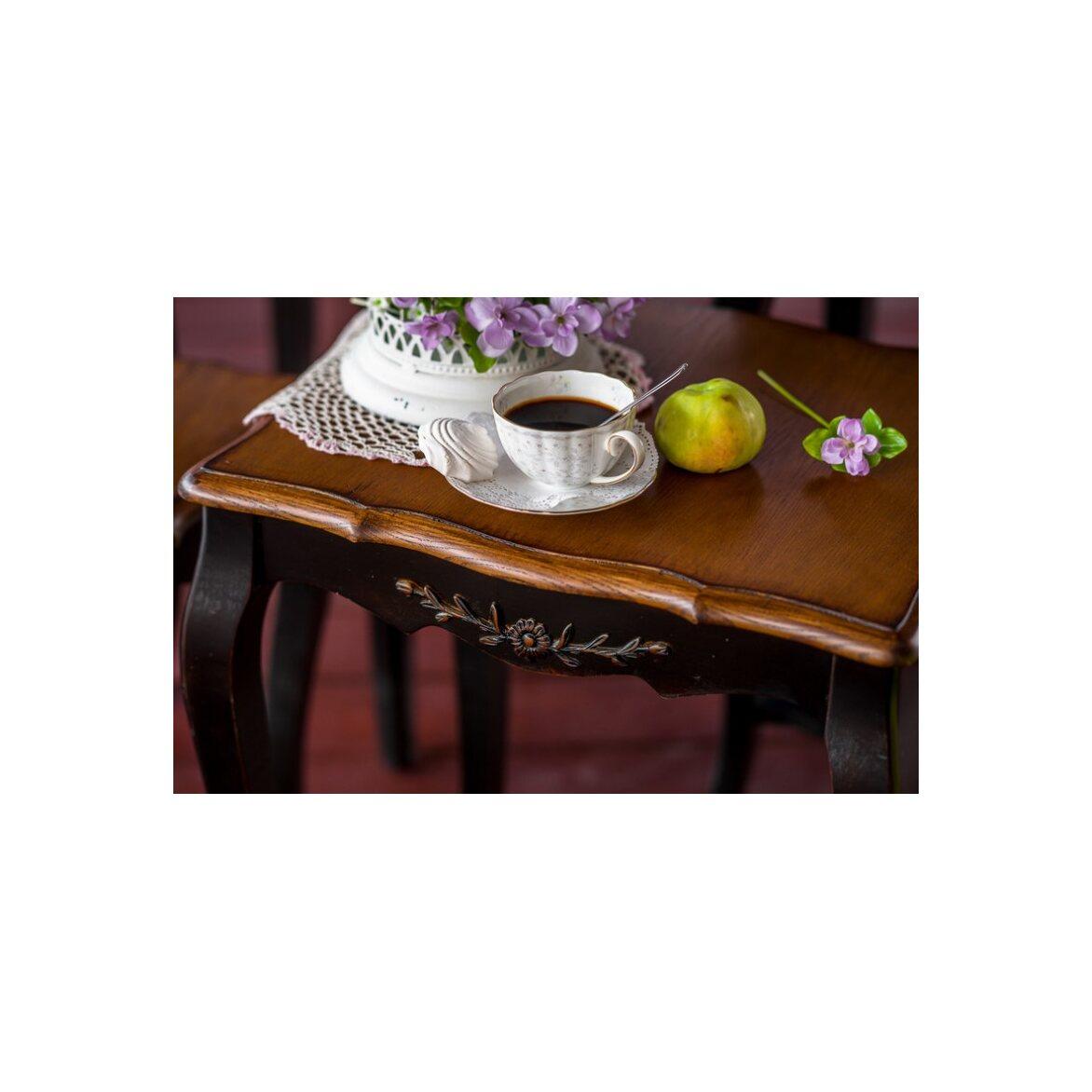 Консольные столики (комплект) Leontina, черного цвета 9 | Консоли Kingsby