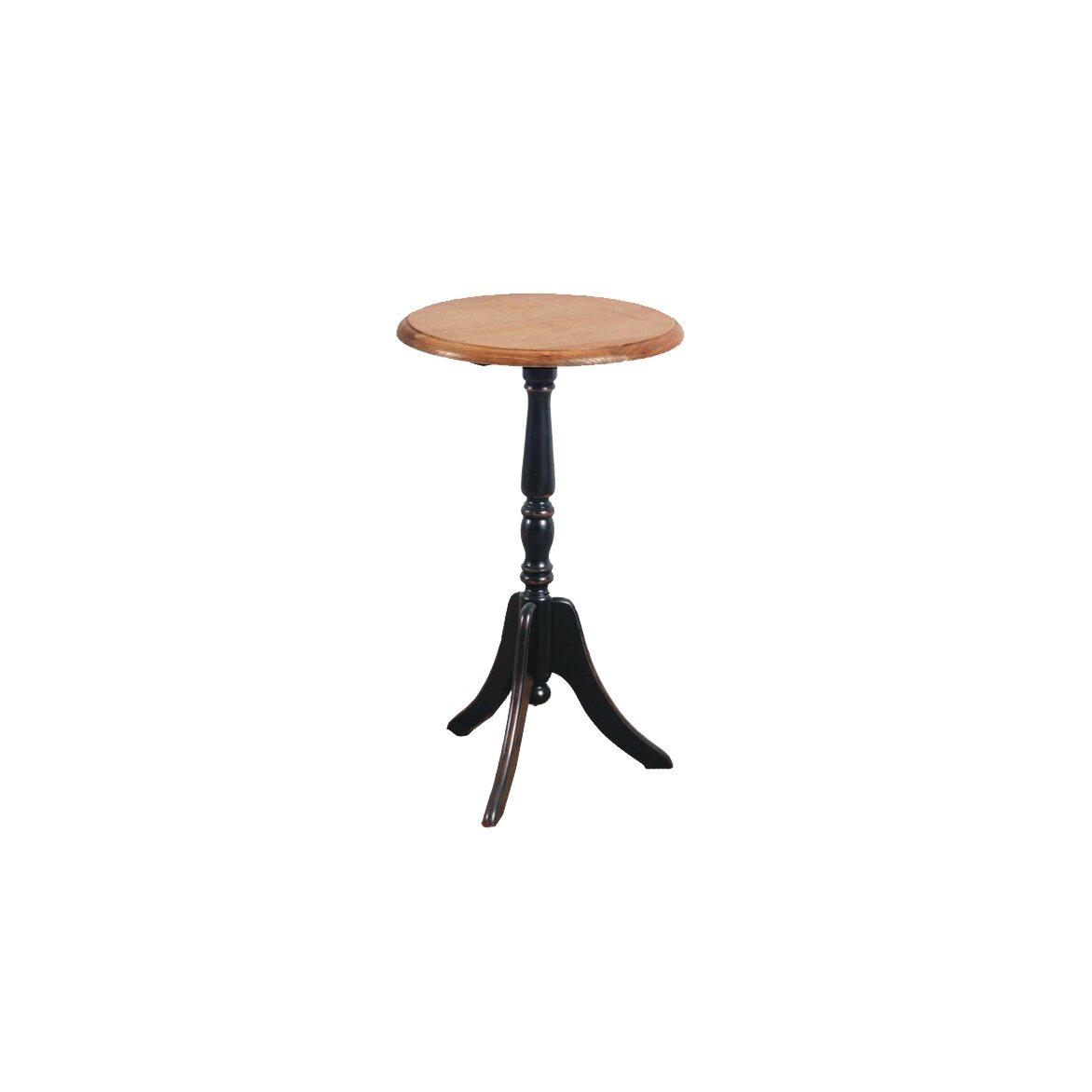Кофейный столик Leontina (круглый), черного цвета | Кофейные столики Kingsby