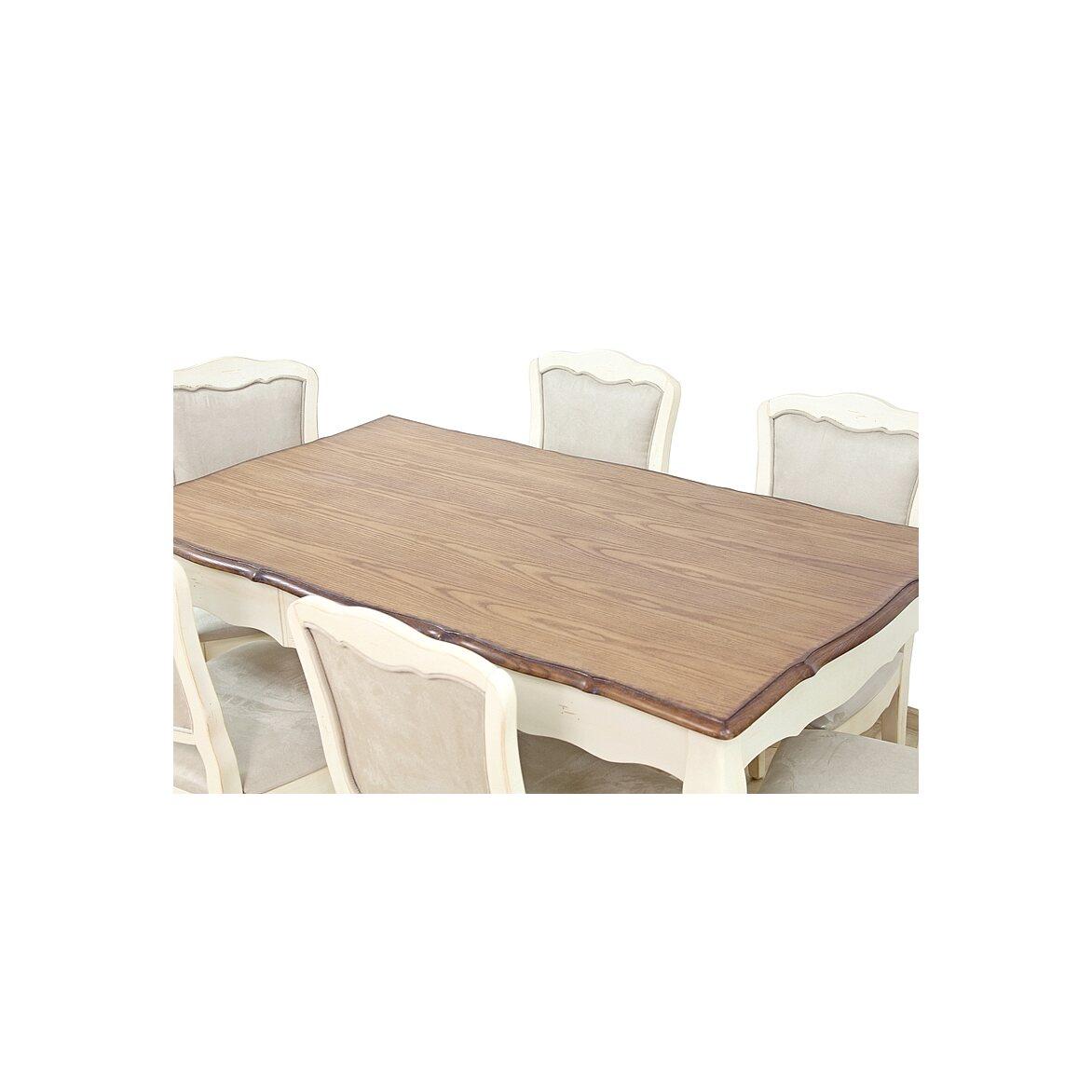 Обеденный стол (малый) Leontina, бежевого цвета 6 | Обеденные столы Kingsby