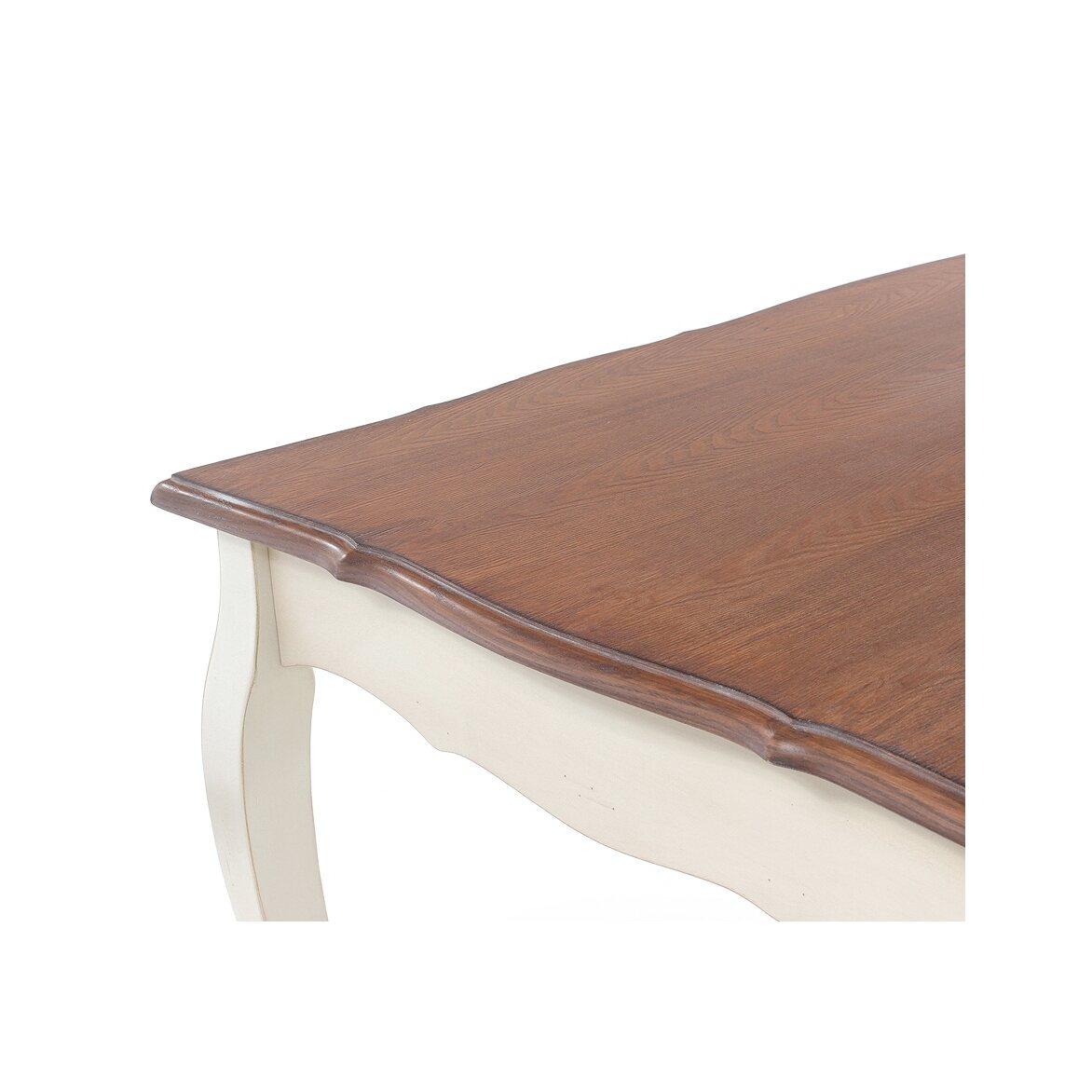 Обеденный стол (малый) Leontina, бежевого цвета 4 | Обеденные столы Kingsby