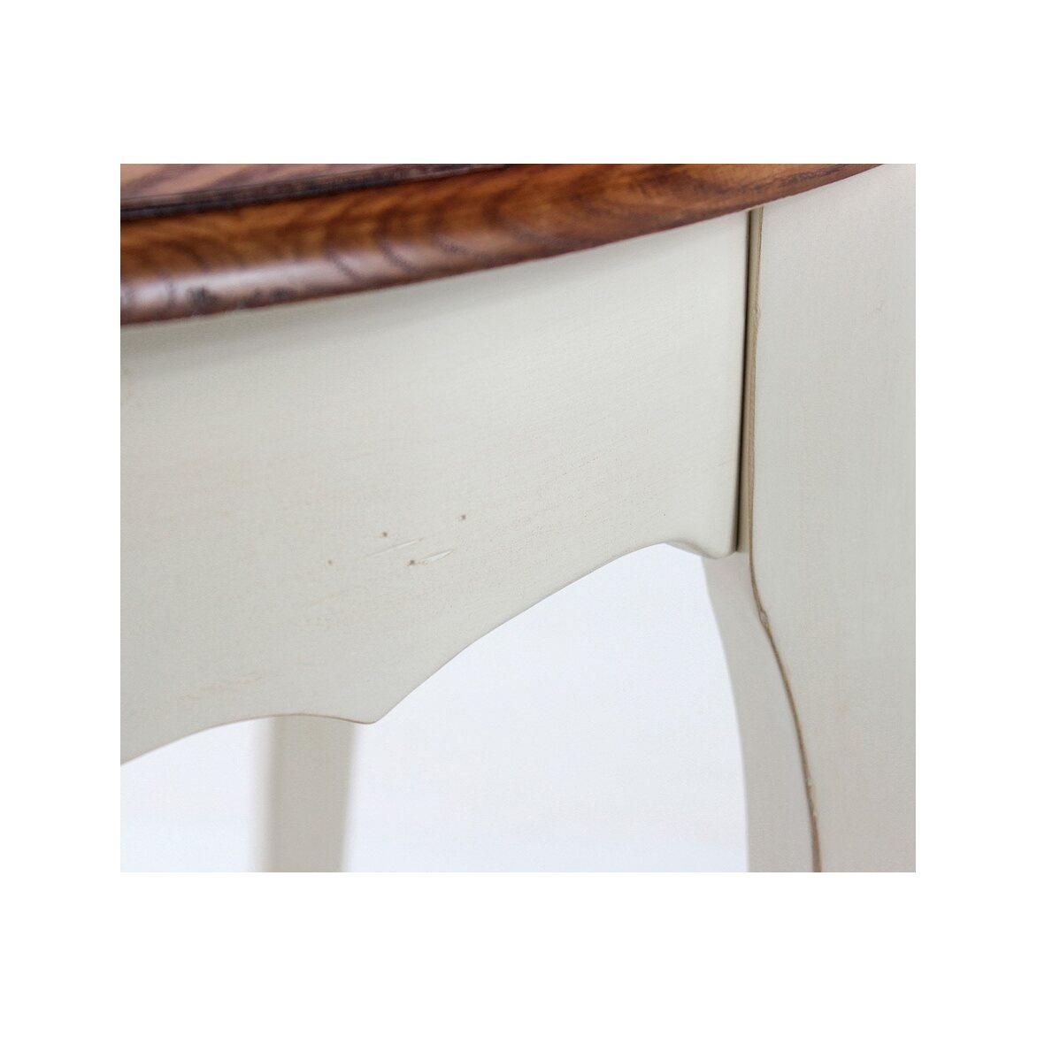 Круглый обеденный стол Leontina (малый), бежевого цвета 5 | Обеденные столы Kingsby