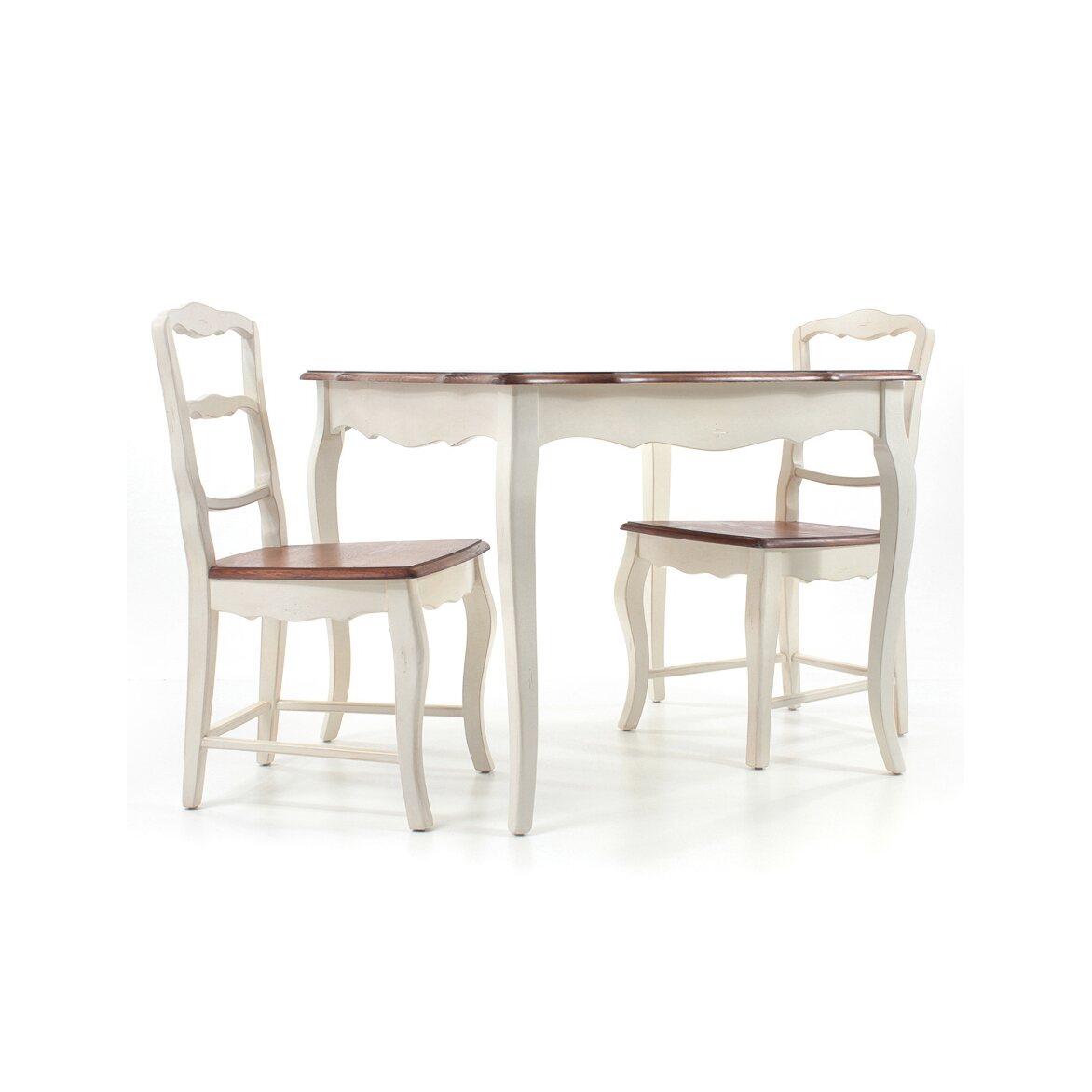 Круглый обеденный стол Leontina (малый), бежевого цвета 4   Обеденные столы Kingsby