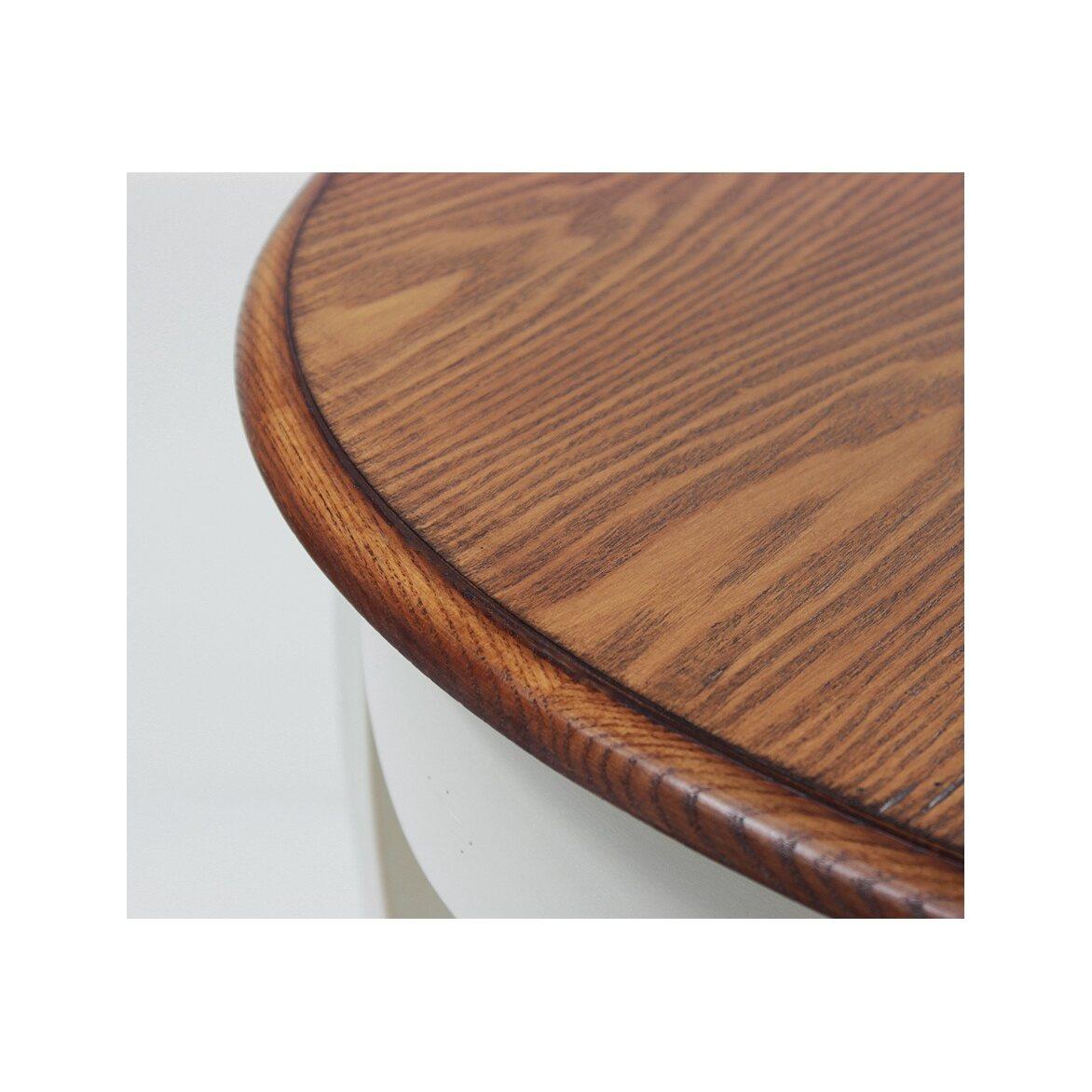Круглый обеденный стол Leontina (малый), бежевого цвета 6 | Обеденные столы Kingsby
