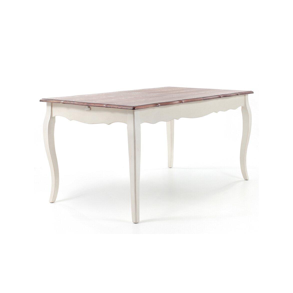 Обеденный стол раскладной Leontina, бежевого цвета   Обеденные столы Kingsby