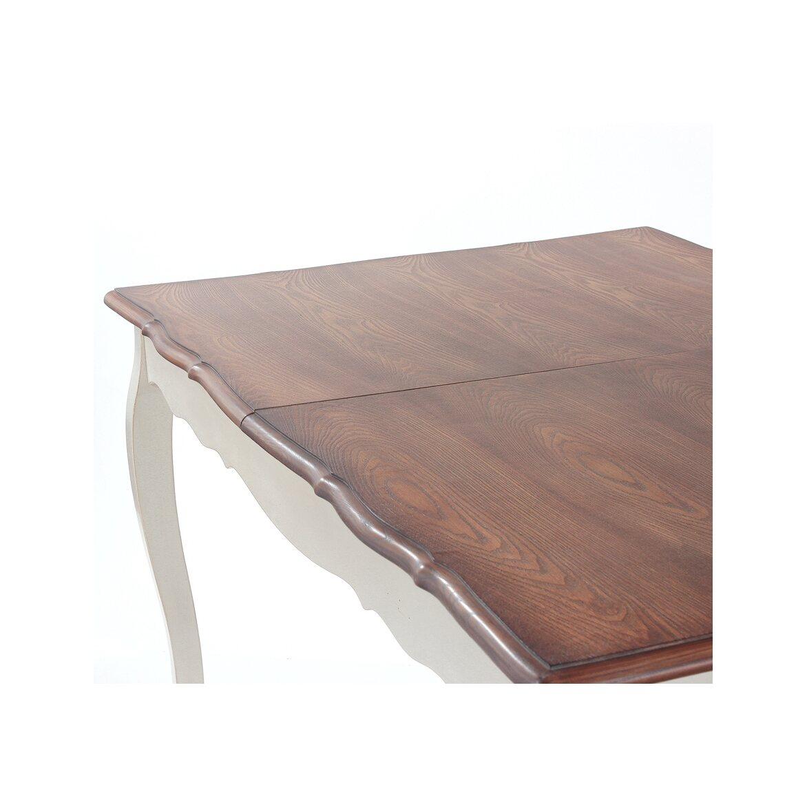 Обеденный стол раскладной Leontina, бежевого цвета 5   Обеденные столы Kingsby