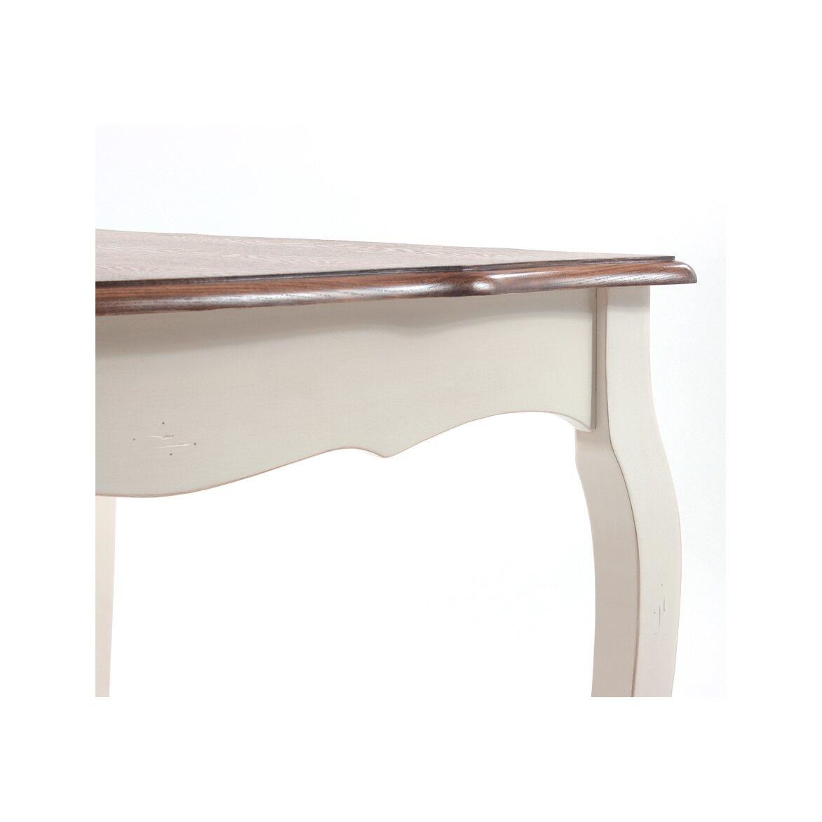 Обеденный стол раскладной Leontina, бежевого цвета 6   Обеденные столы Kingsby