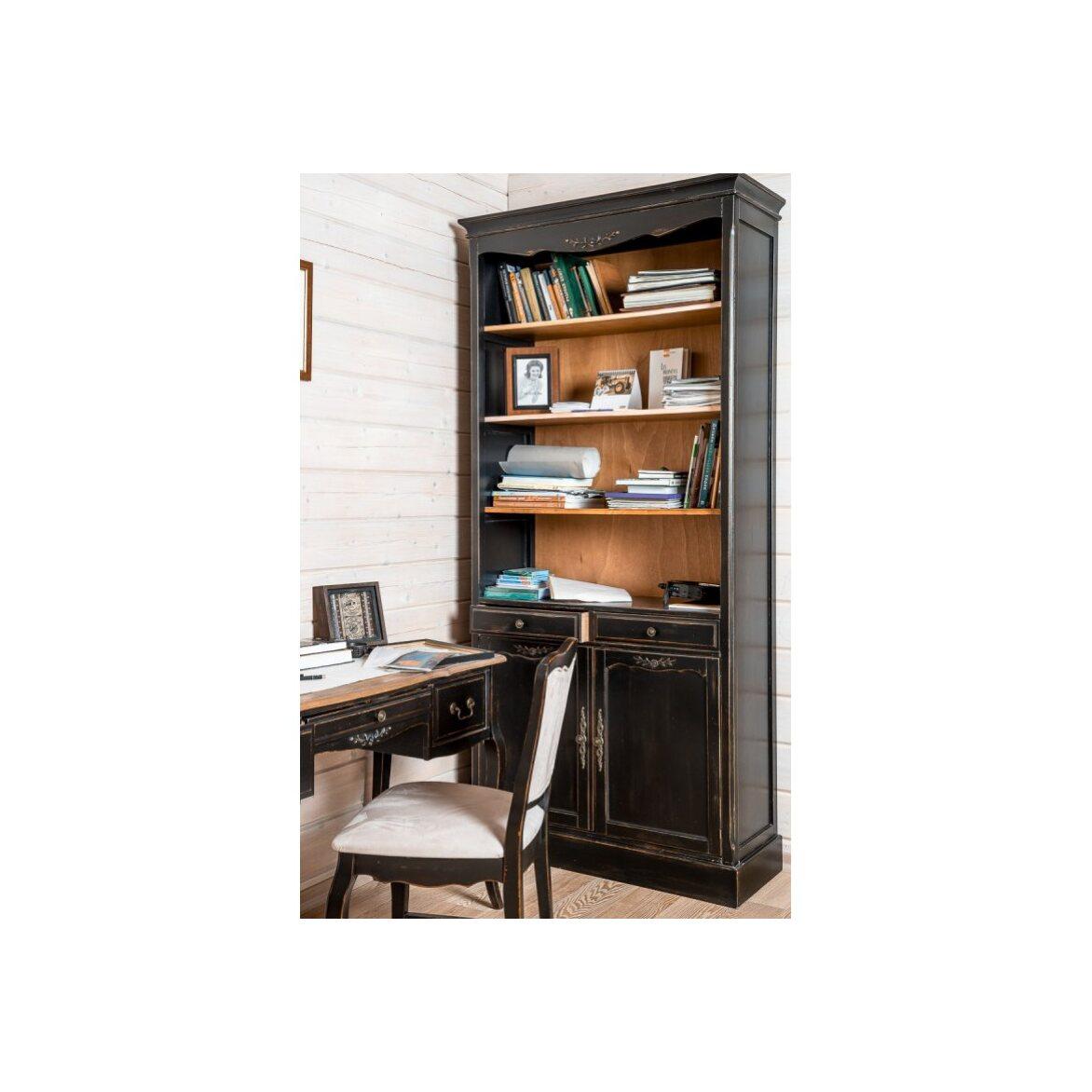 Стул с мягким сиденьем Leontina, черного цвета 3 | Обеденные стулья Kingsby