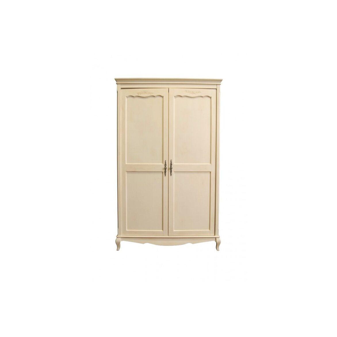 Платяной шкаф двухстворчатый Leontina, бежевого цвета 3   Платяные шкафы Kingsby