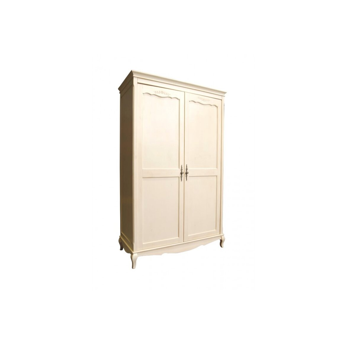 Платяной шкаф двухстворчатый Leontina, бежевого цвета 4   Платяные шкафы Kingsby