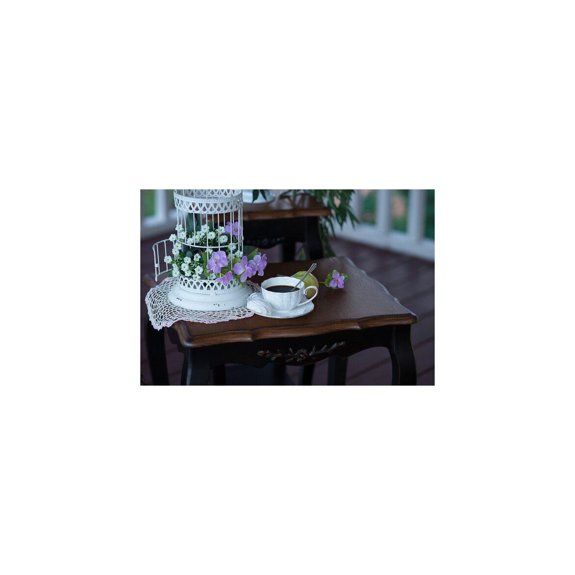 Консольные столики (комплект) Leontina, черного цвета 2 | Консоли Kingsby