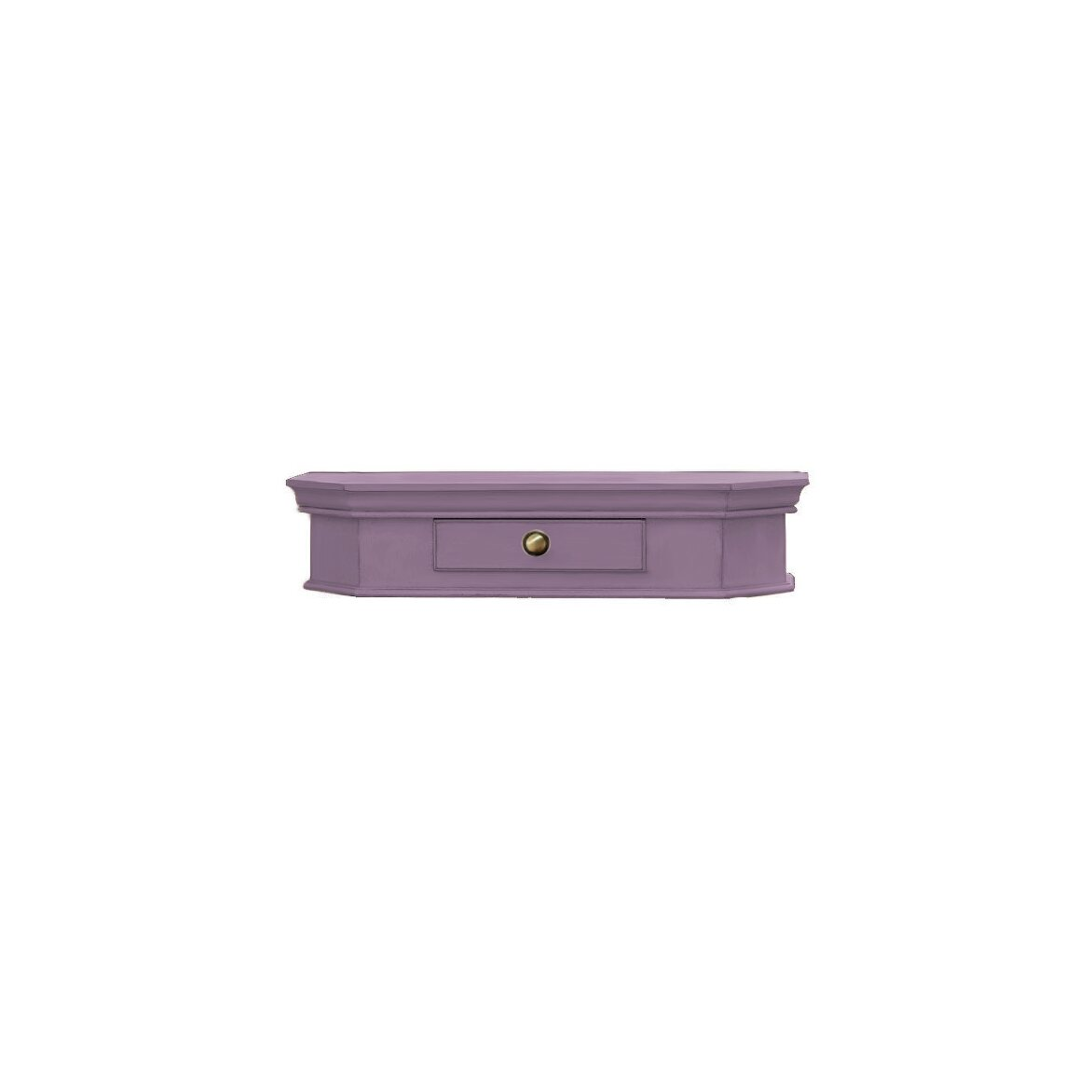 Подвесной ящик Leontina, лавандового цвета | Консоли Kingsby