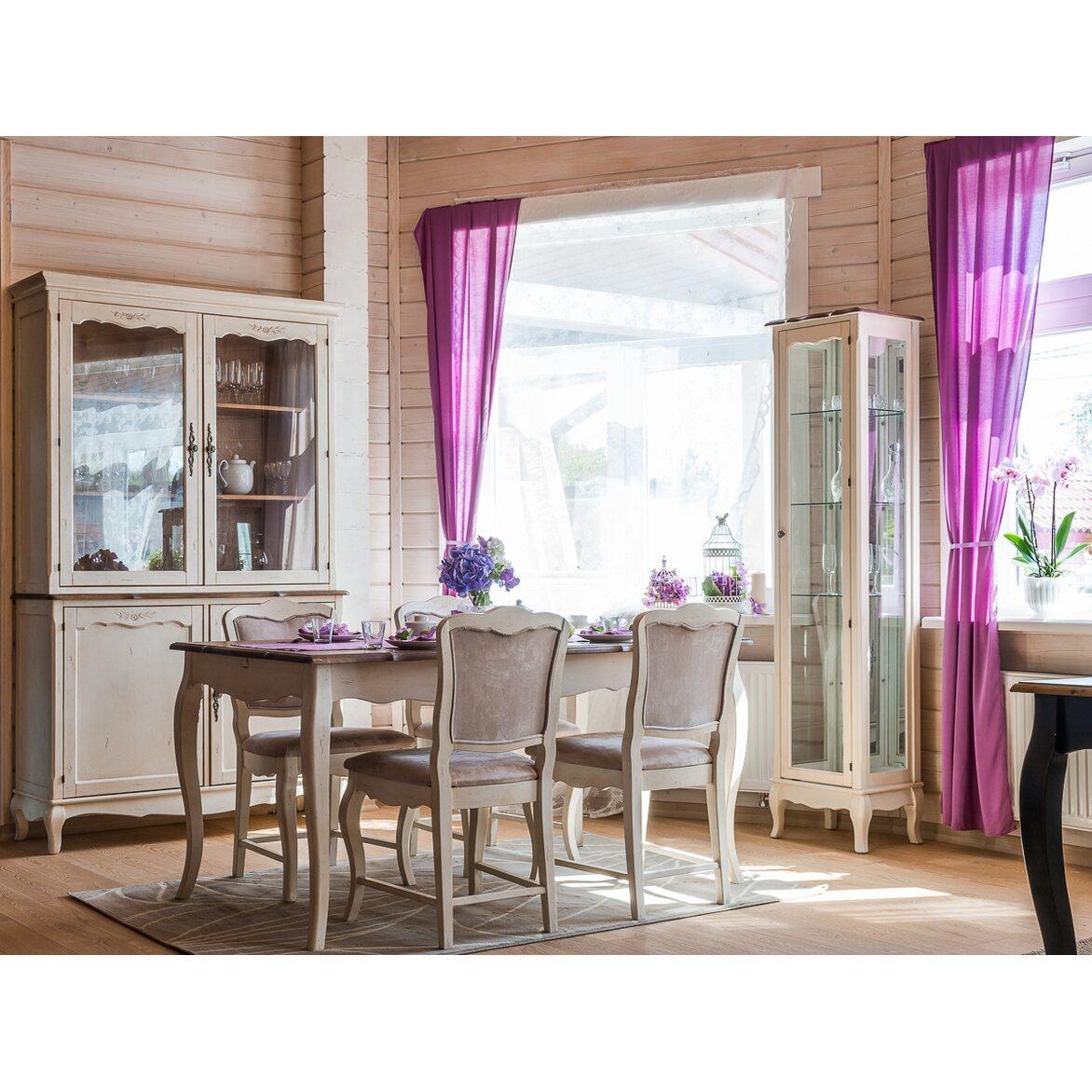 Обеденный стол (малый) Leontina, бежевого цвета 2 | Обеденные столы Kingsby