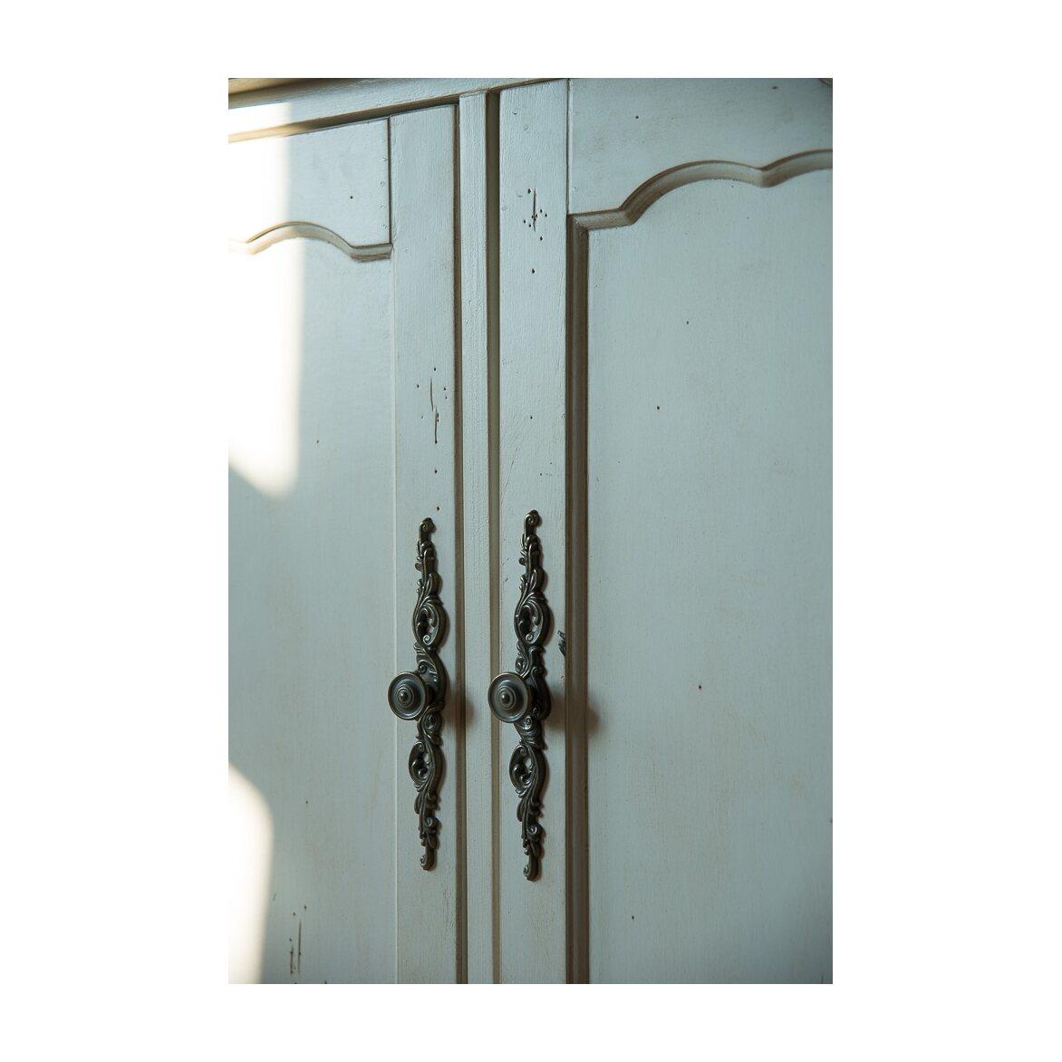Буфет двухстворчатый Leontina, лавандового цвета 4 | Буфеты Kingsby