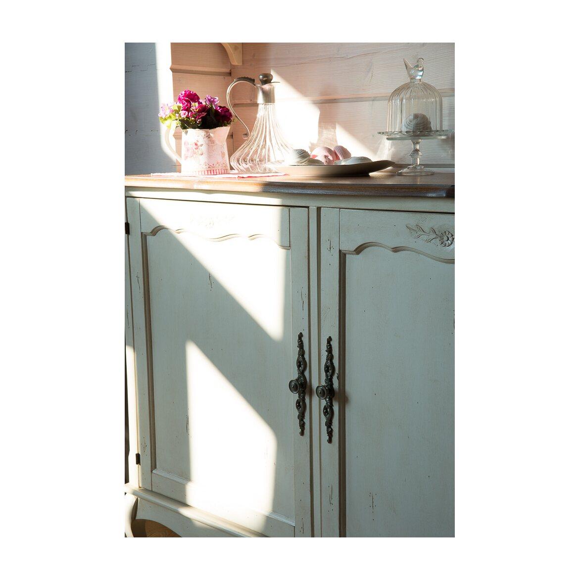 Буфет двухстворчатый Leontina, лавандового цвета 3 | Буфеты Kingsby
