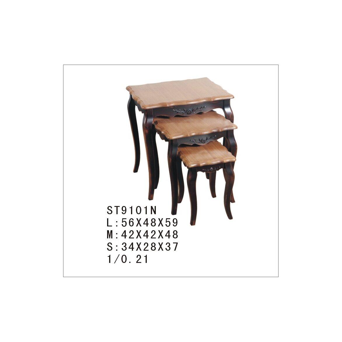 Консольные столики (комплект) Leontina, черного цвета 3 | Консоли Kingsby