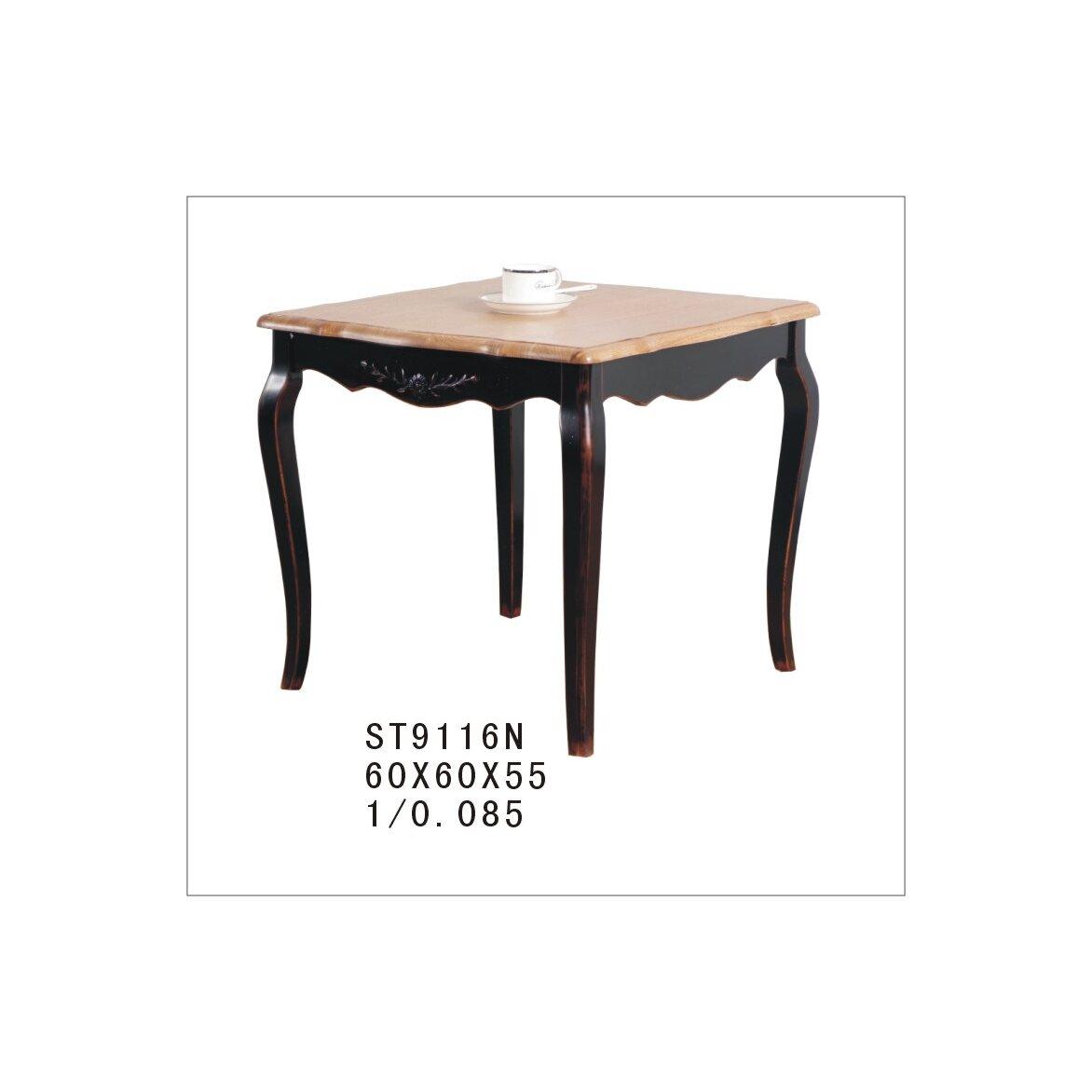 Чайный столик (квадратный) Leontina, черного цвета 4   Журнальные столики Kingsby