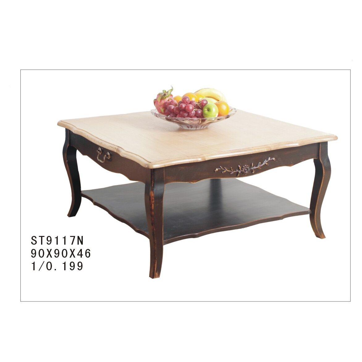 Квадратный низкий чайный столик Leontina, черного цвета 4 | Журнальные столики Kingsby