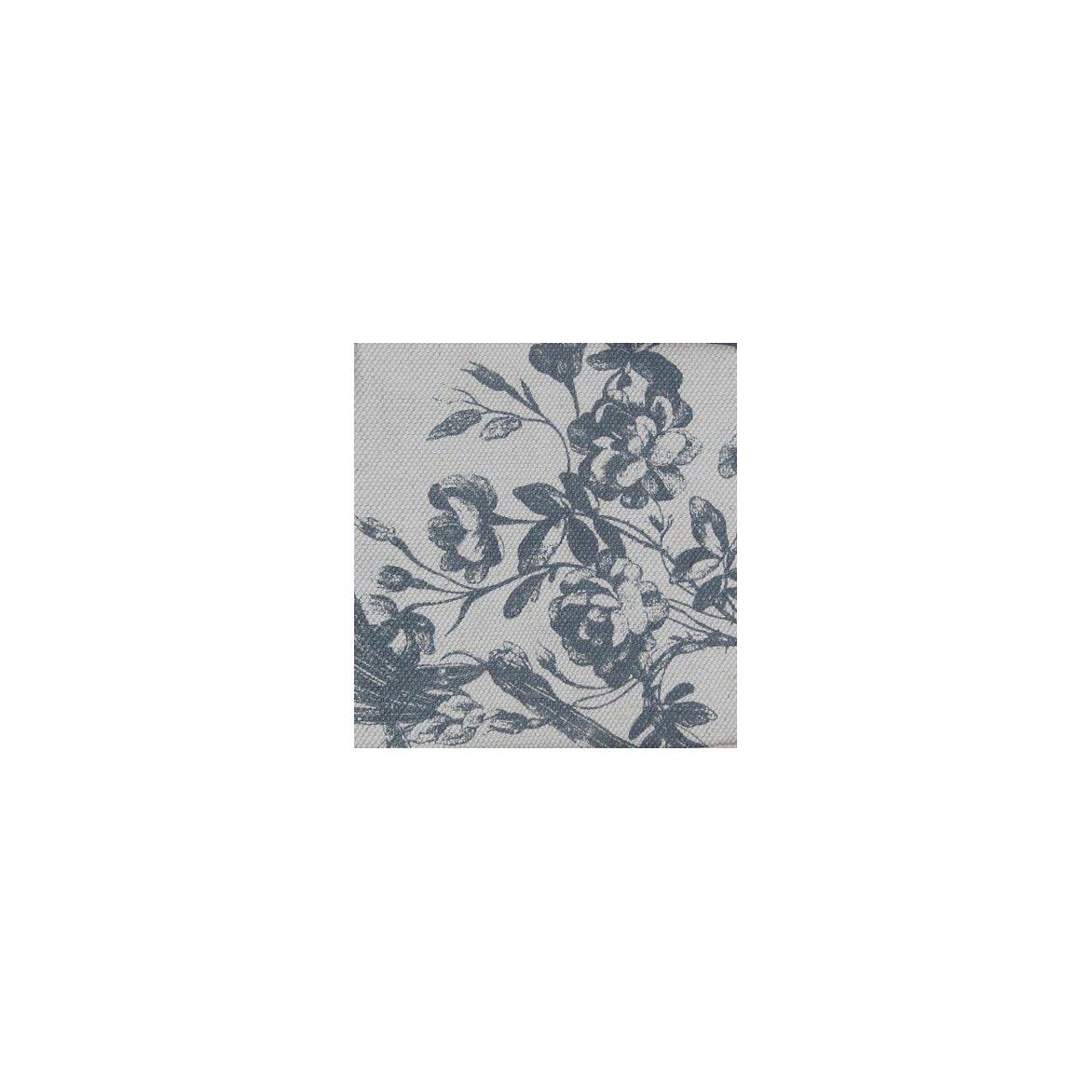 Сундук-пуфик с мягким сиденьем с гобеленовой тканью, белого цвета 6 | Пуфы Kingsby