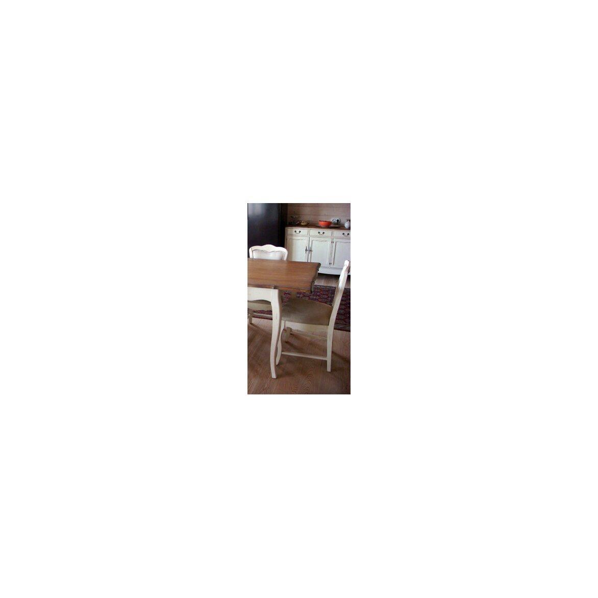 Обеденный стол раскладной Leontina, бежевого цвета 3   Обеденные столы Kingsby