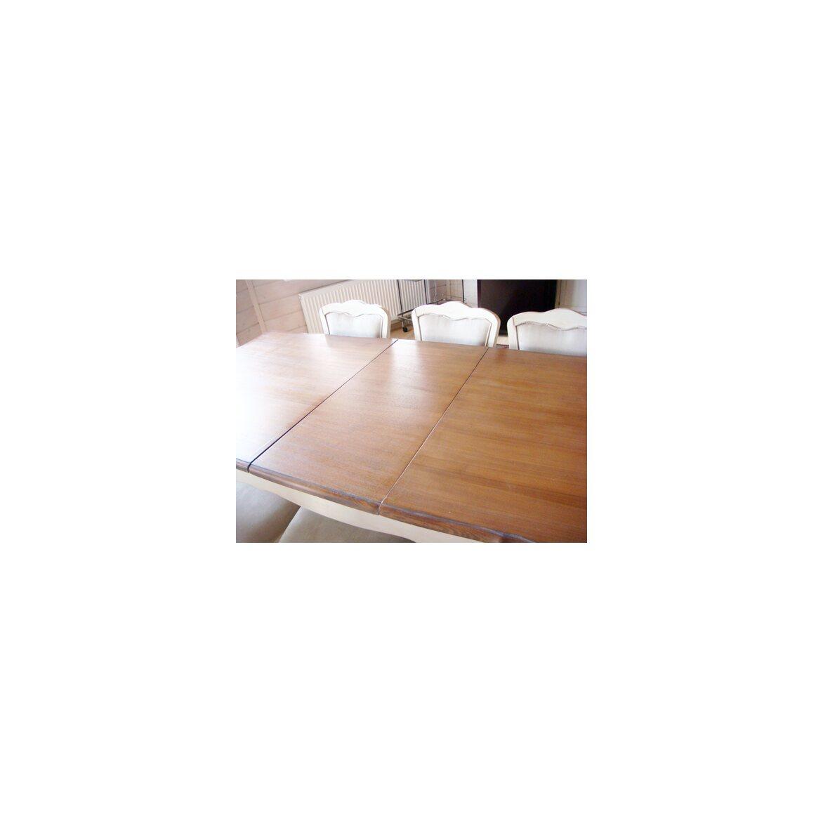 Обеденный стол раскладной Leontina, бежевого цвета 4   Обеденные столы Kingsby