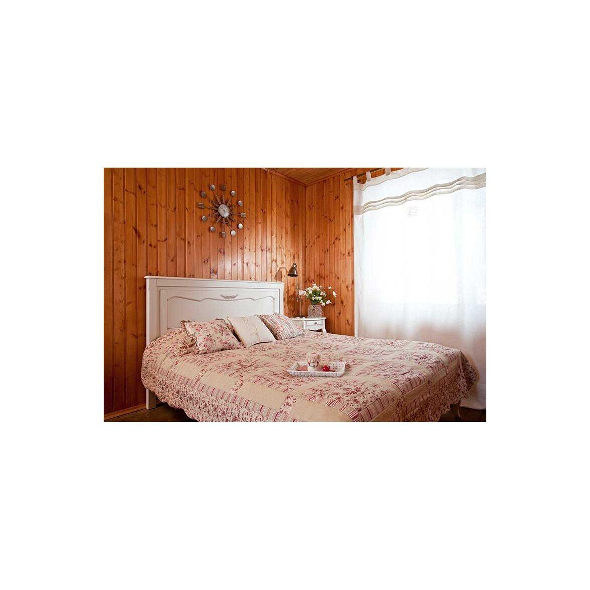 Кровать двуспальная 160*200 Leontina, бежевого цвета 5   Двуспальные кровати Kingsby