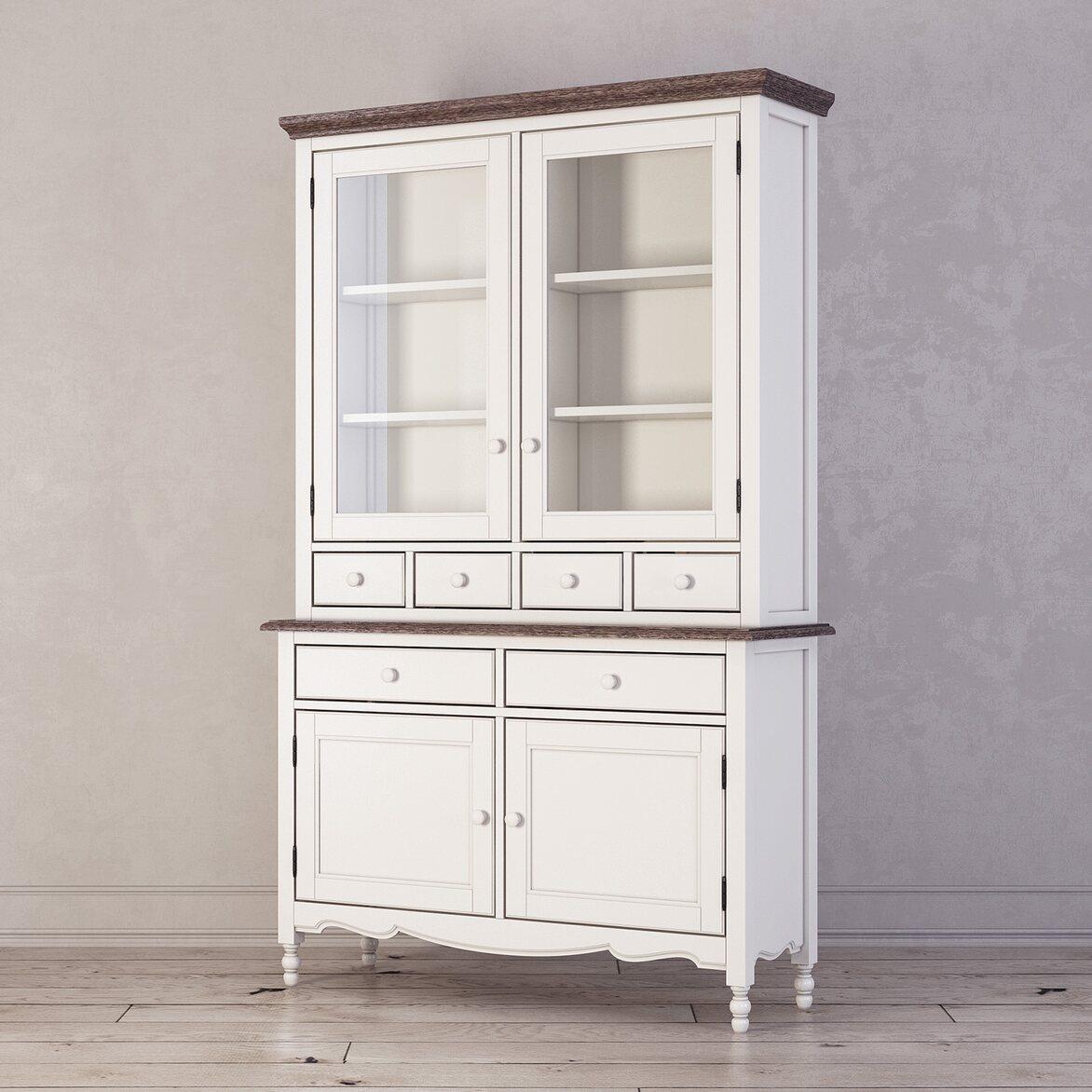 Буфет с ящиками и дверцами Leblanc, белый 2 | Буфеты Kingsby