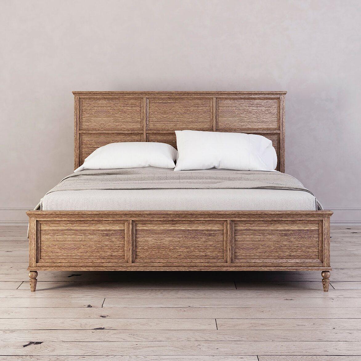 Кровать 160*200 Vilton, дуб   Двуспальные кровати Kingsby