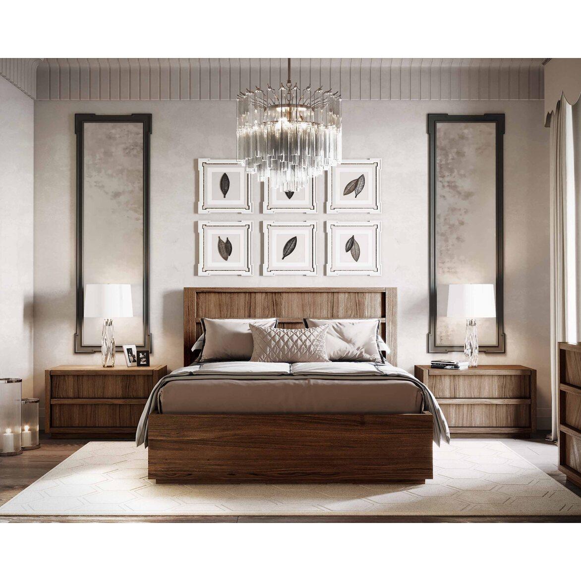 "Кровать 160*200 ""Brenson"" 3 | Двуспальные кровати Kingsby"