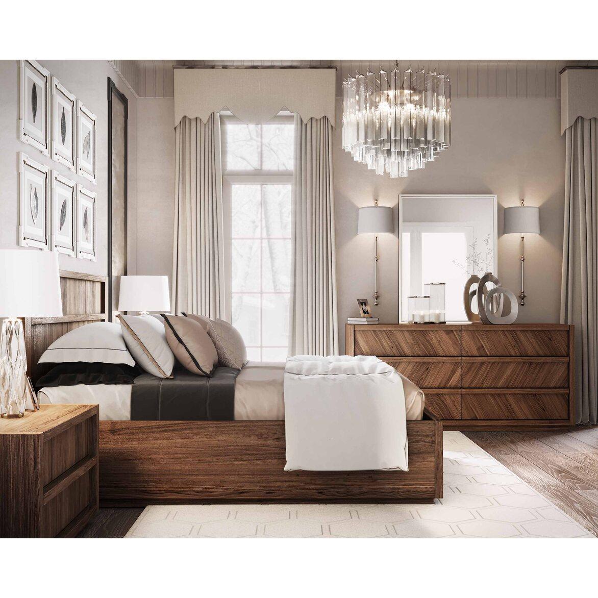 "Кровать 180*200 ""Brenson"" 6 | Двуспальные кровати Kingsby"