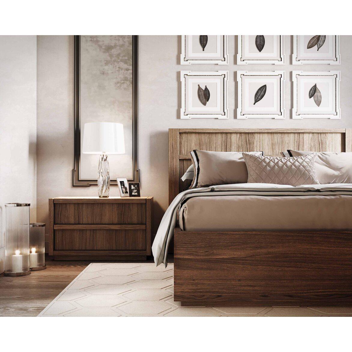 "Кровать 160*200 ""Brenson"" 7 | Двуспальные кровати Kingsby"