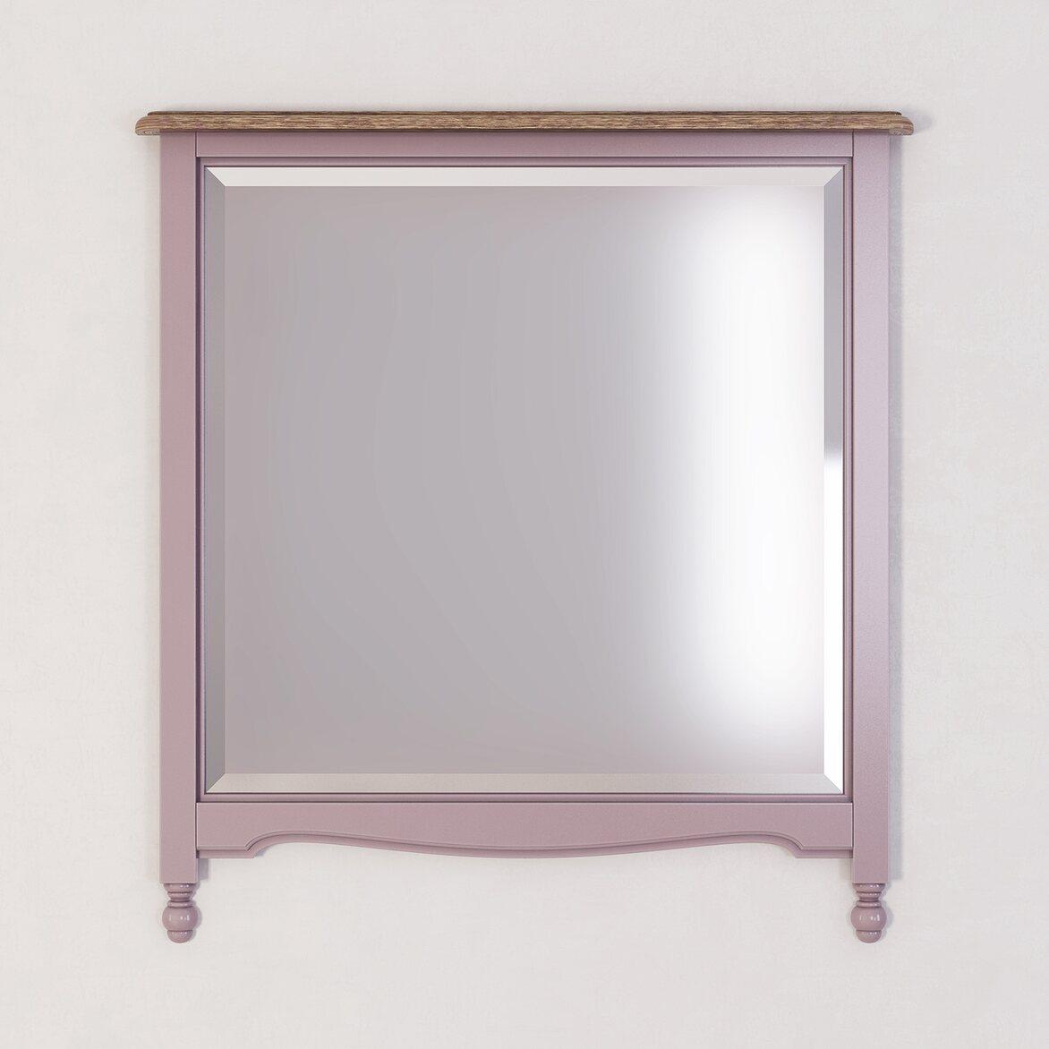 Зеркало прямоугольное Leblanc, лаванда | Настенные зеркала Kingsby