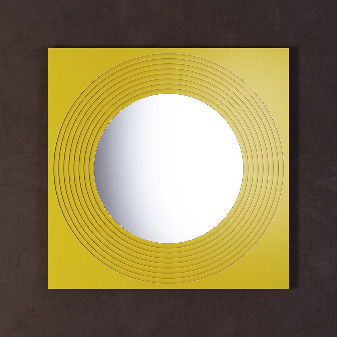Зеркало Town Yellow | Настенные зеркала Kingsby