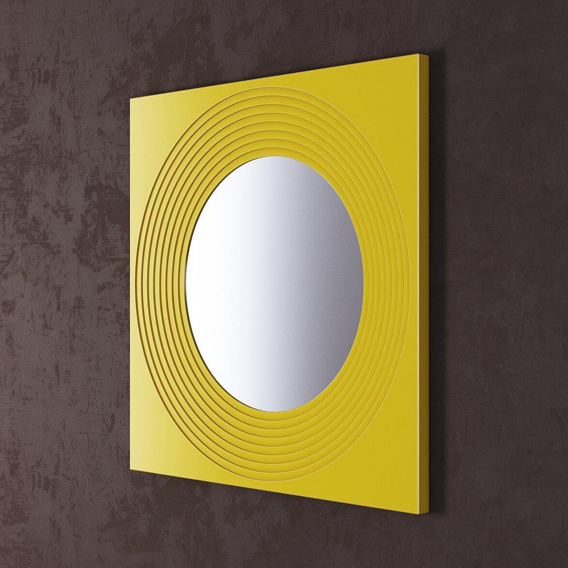 Зеркало Town Yellow 2 | Настенные зеркала Kingsby