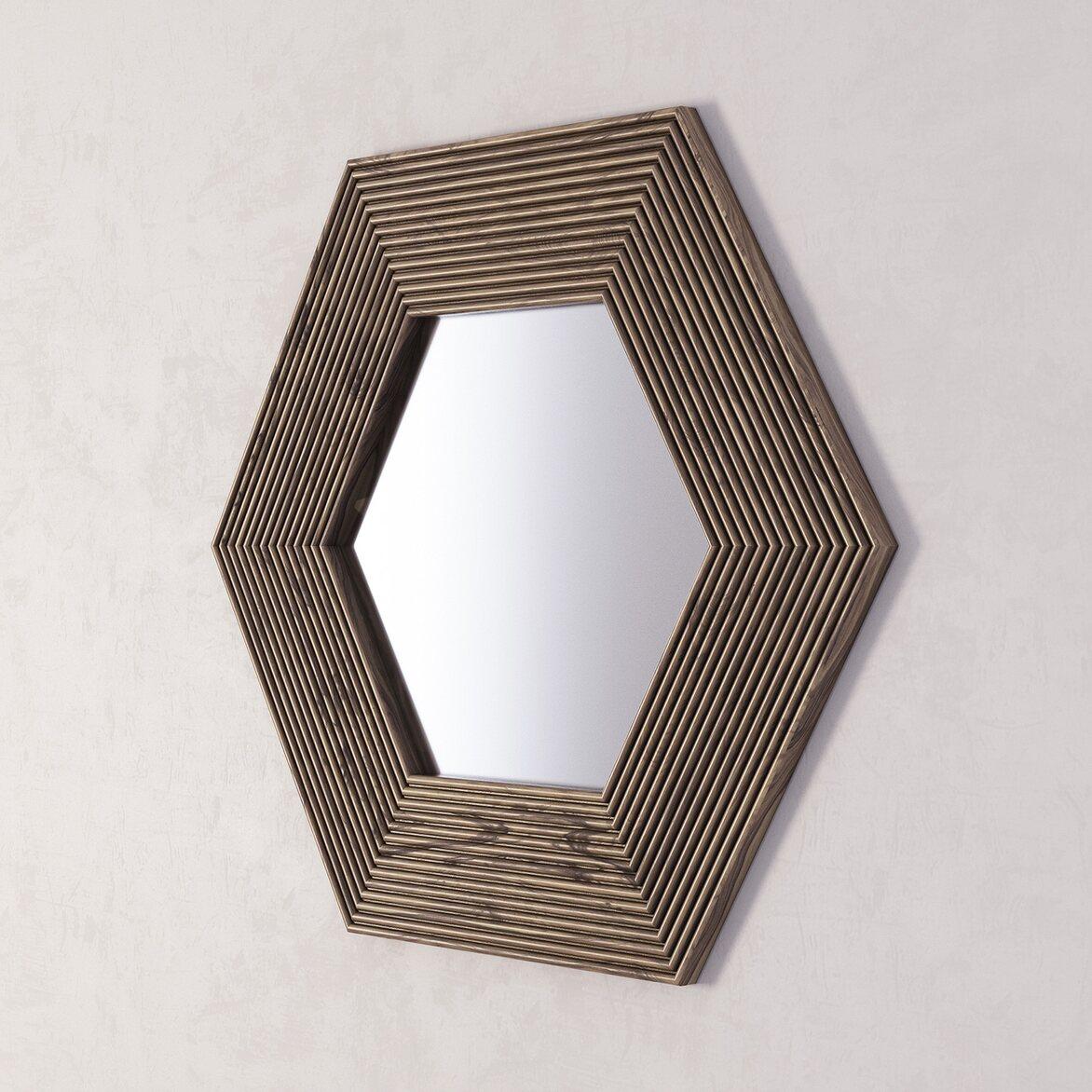 Зеркало Сorners 2 | Настенные зеркала Kingsby