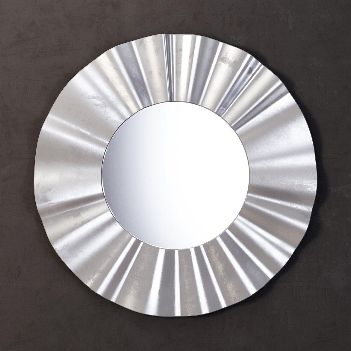 Зеркало River silver   Настенные зеркала Kingsby