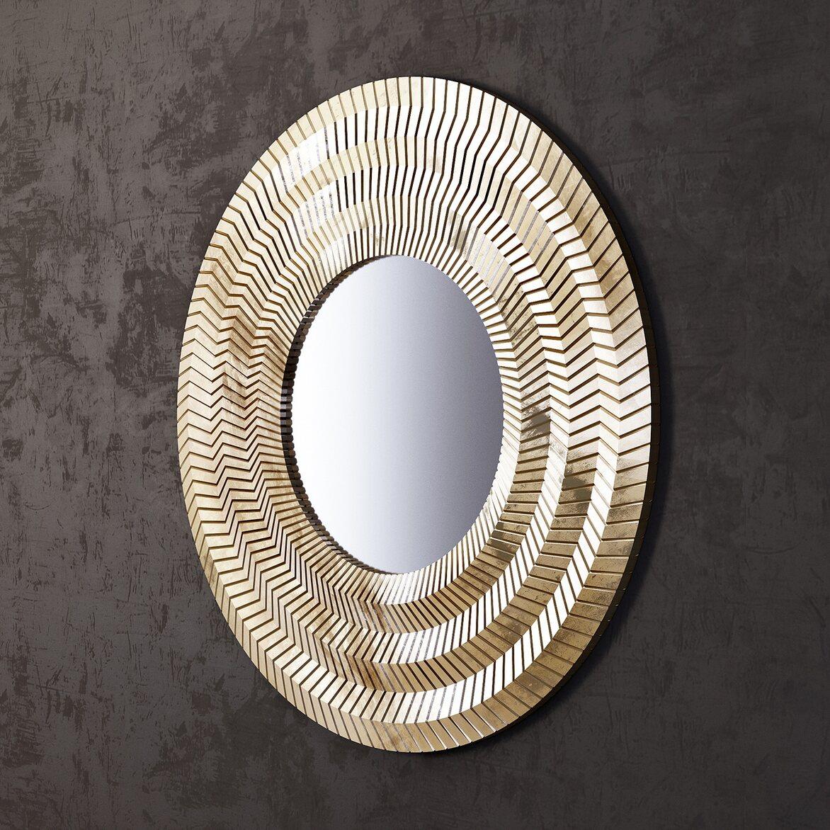 Зеркало Millennium Gold 2 | Настенные зеркала Kingsby