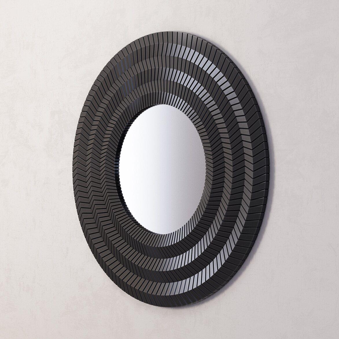 Зеркало Millennium Black 2 | Настенные зеркала Kingsby